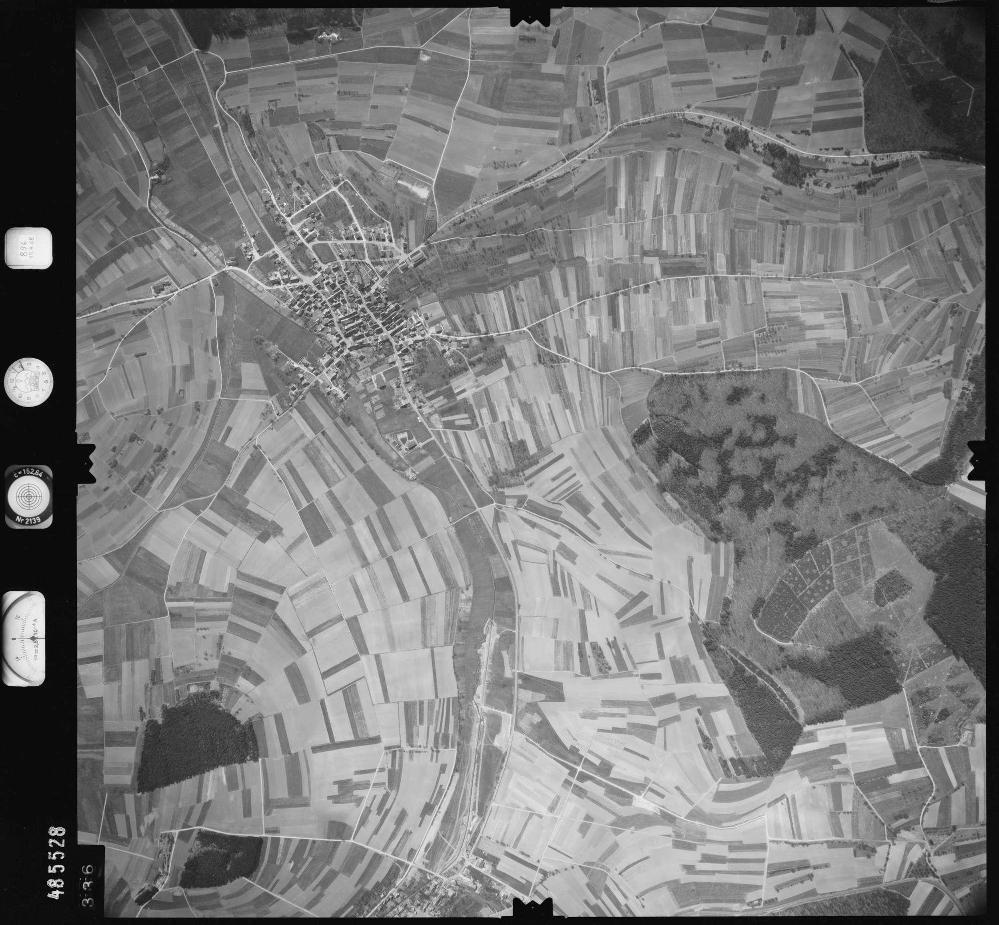Luftbild: Film 896 Bildnr. 336, Bild 1