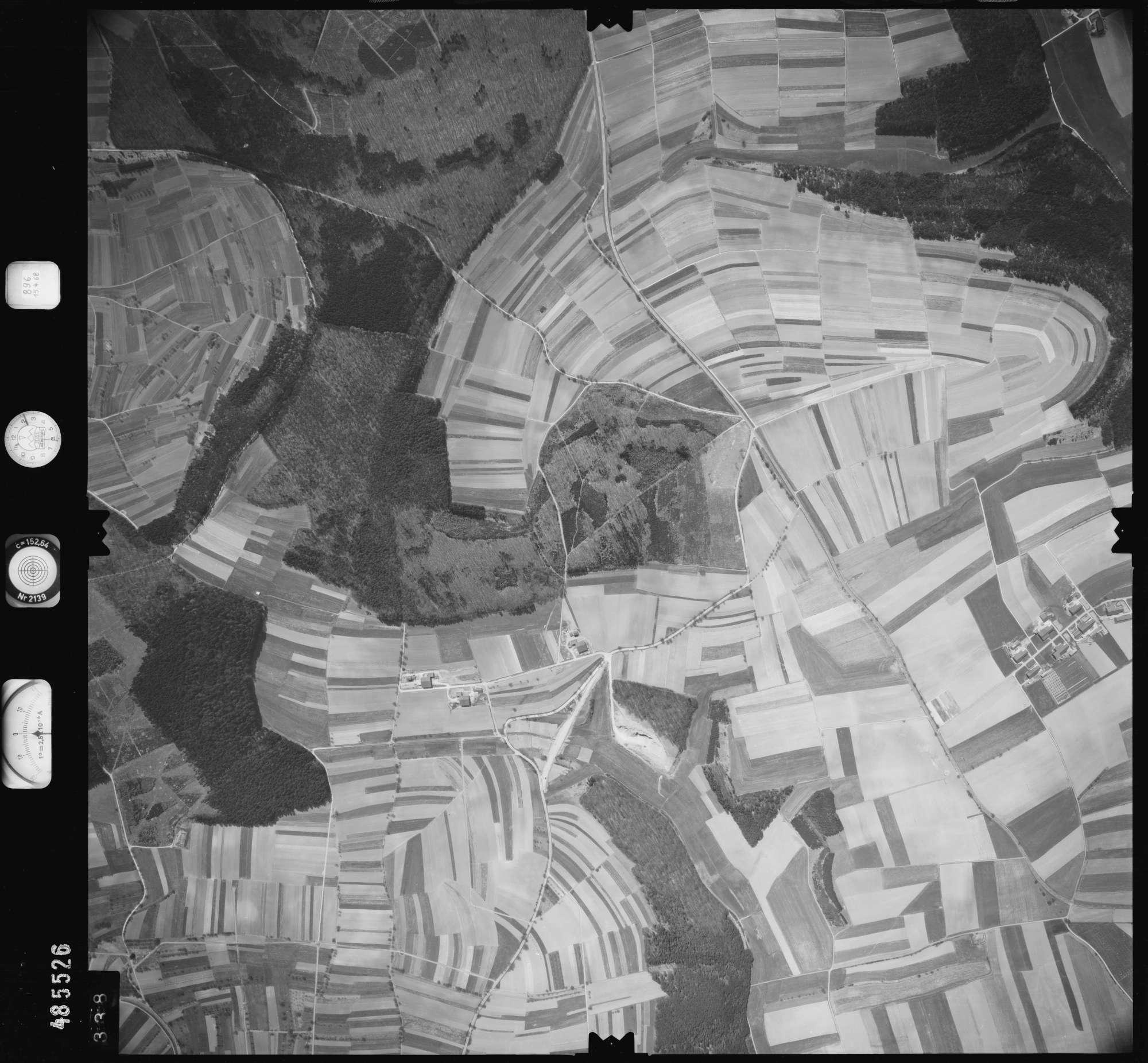 Luftbild: Film 896 Bildnr. 338, Bild 1