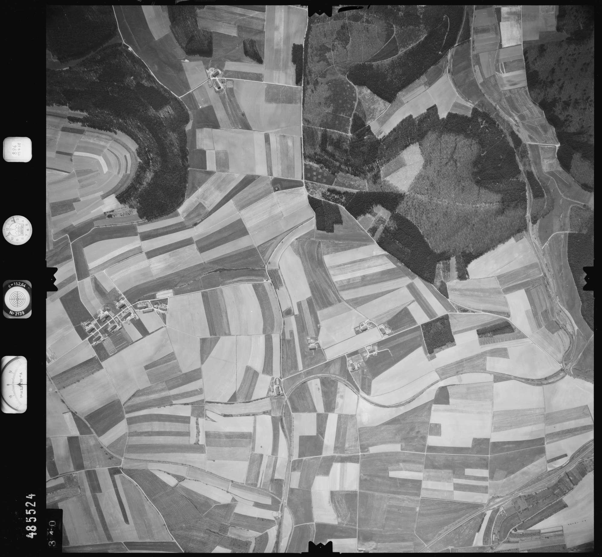 Luftbild: Film 896 Bildnr. 340, Bild 1