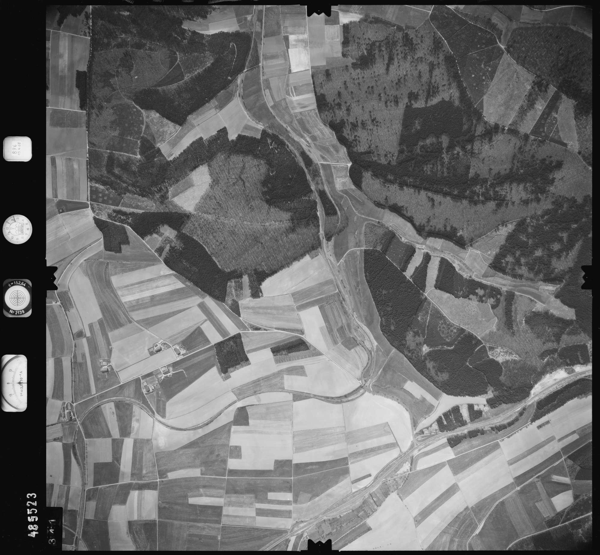 Luftbild: Film 896 Bildnr. 341, Bild 1