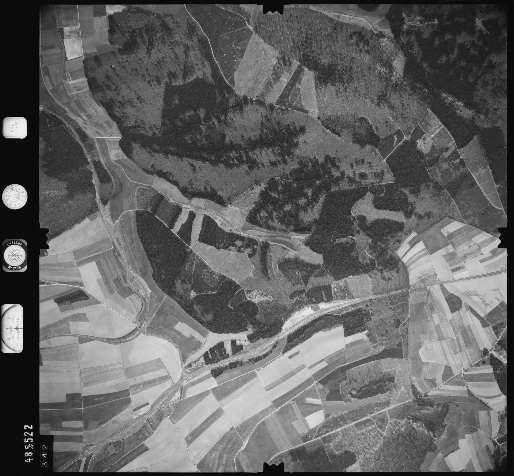 Luftbild: Film 896 Bildnr. 342, Bild 1