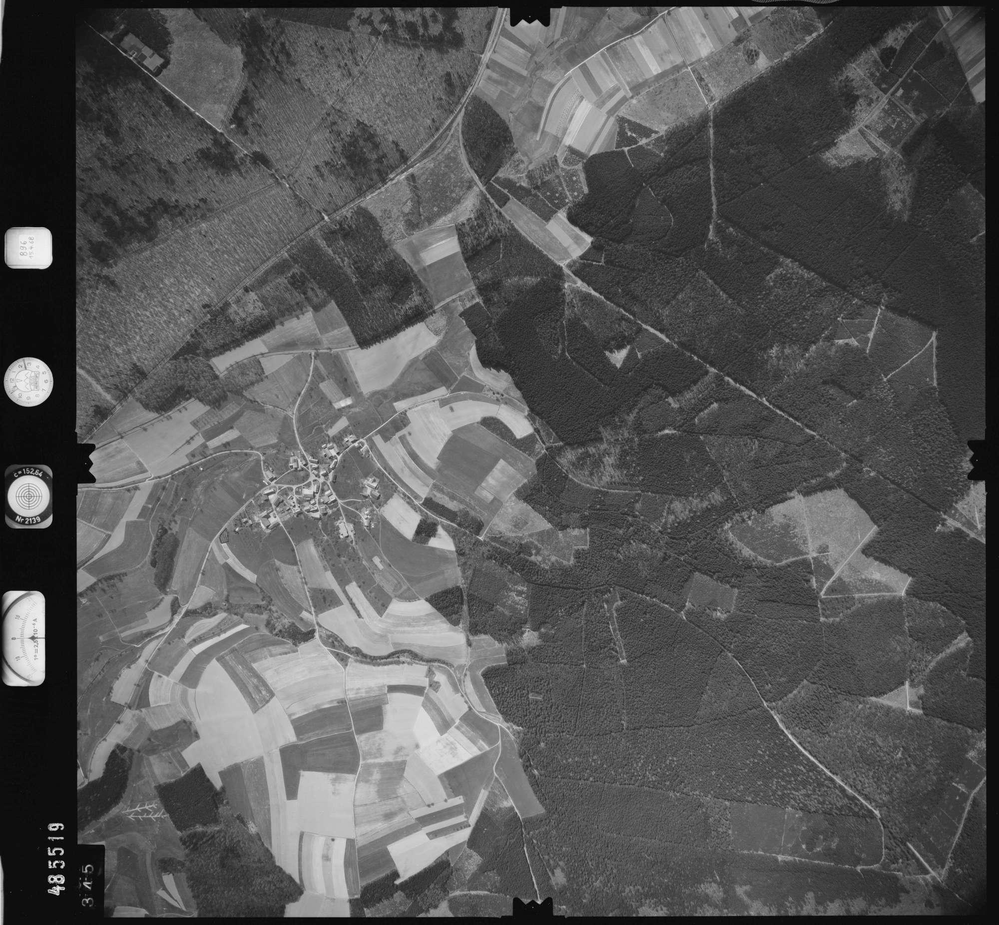 Luftbild: Film 896 Bildnr. 345, Bild 1