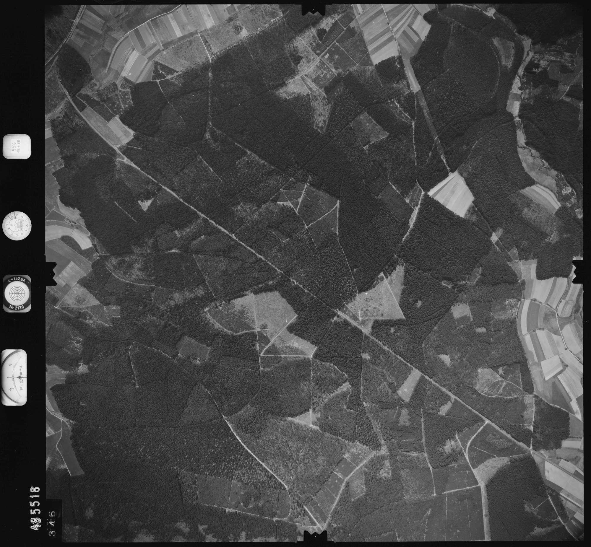 Luftbild: Film 896 Bildnr. 346, Bild 1