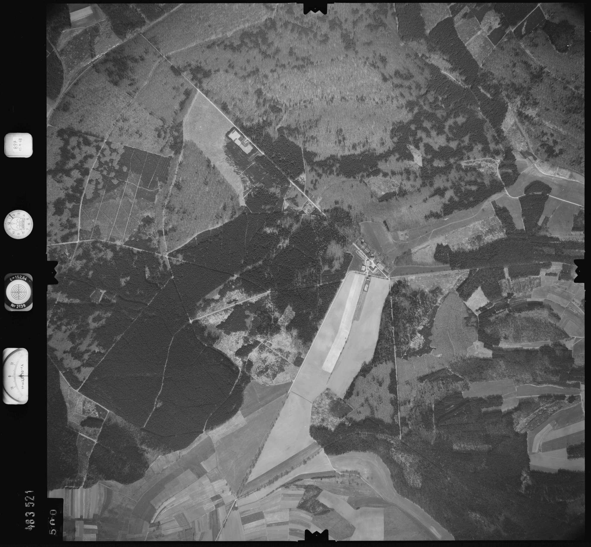 Luftbild: Film 897 Bildnr. 500, Bild 1