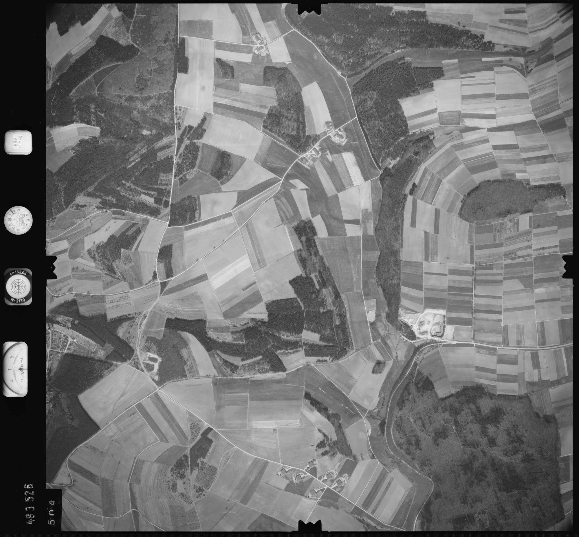 Luftbild: Film 897 Bildnr. 504, Bild 1