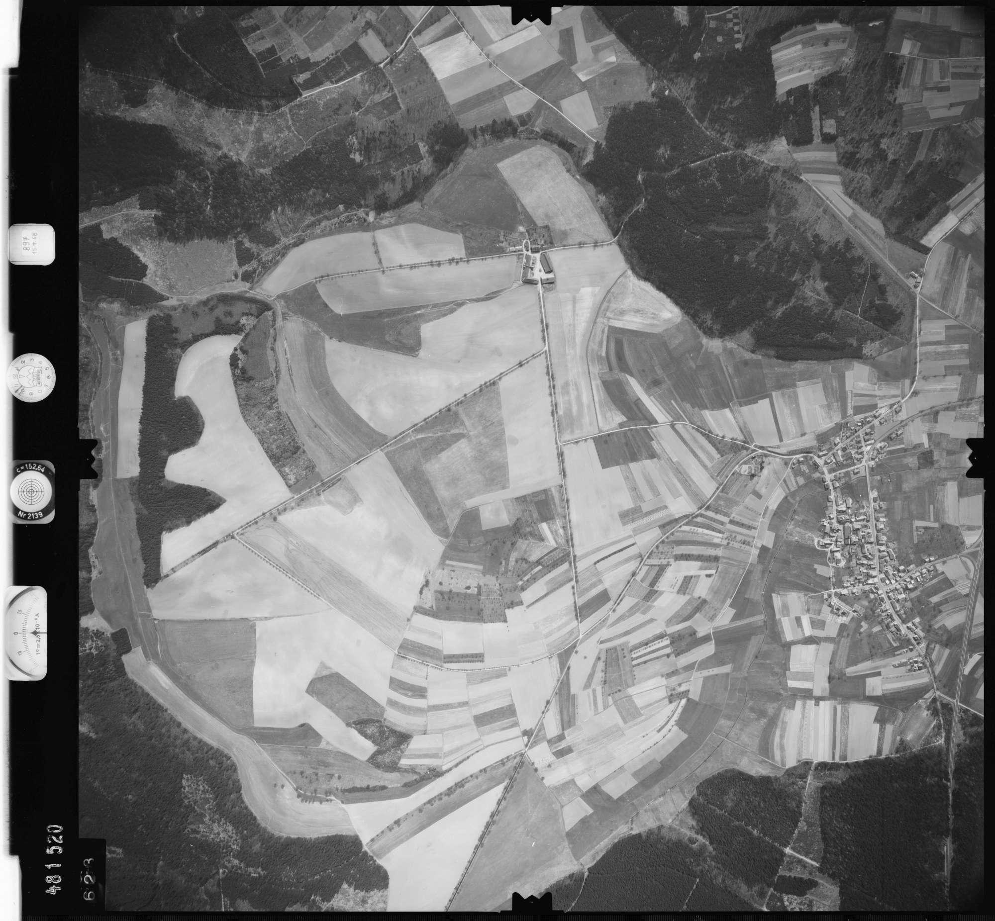 Luftbild: Film 897 Bildnr. 623, Bild 1