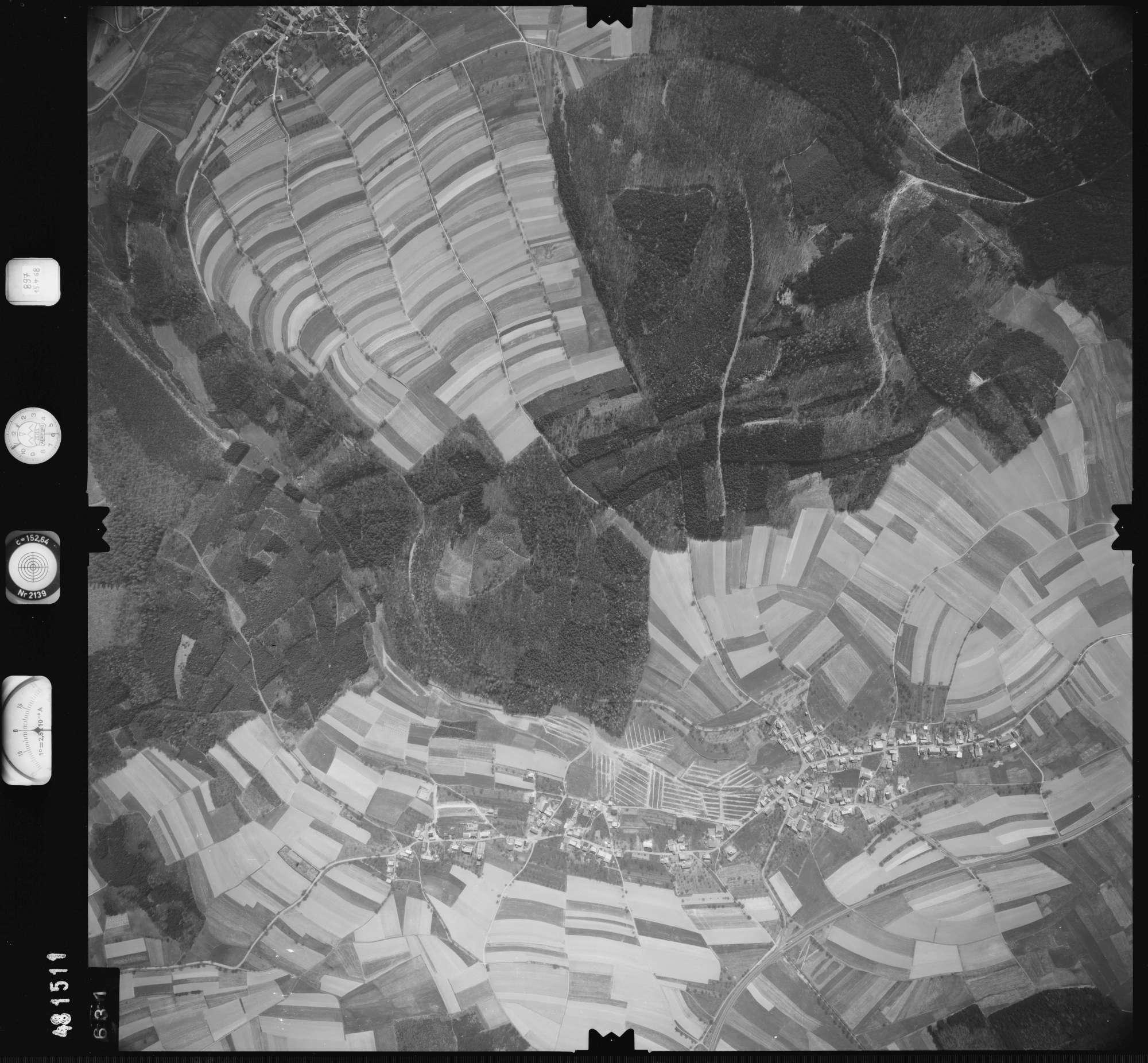 Luftbild: Film 897 Bildnr. 631, Bild 1