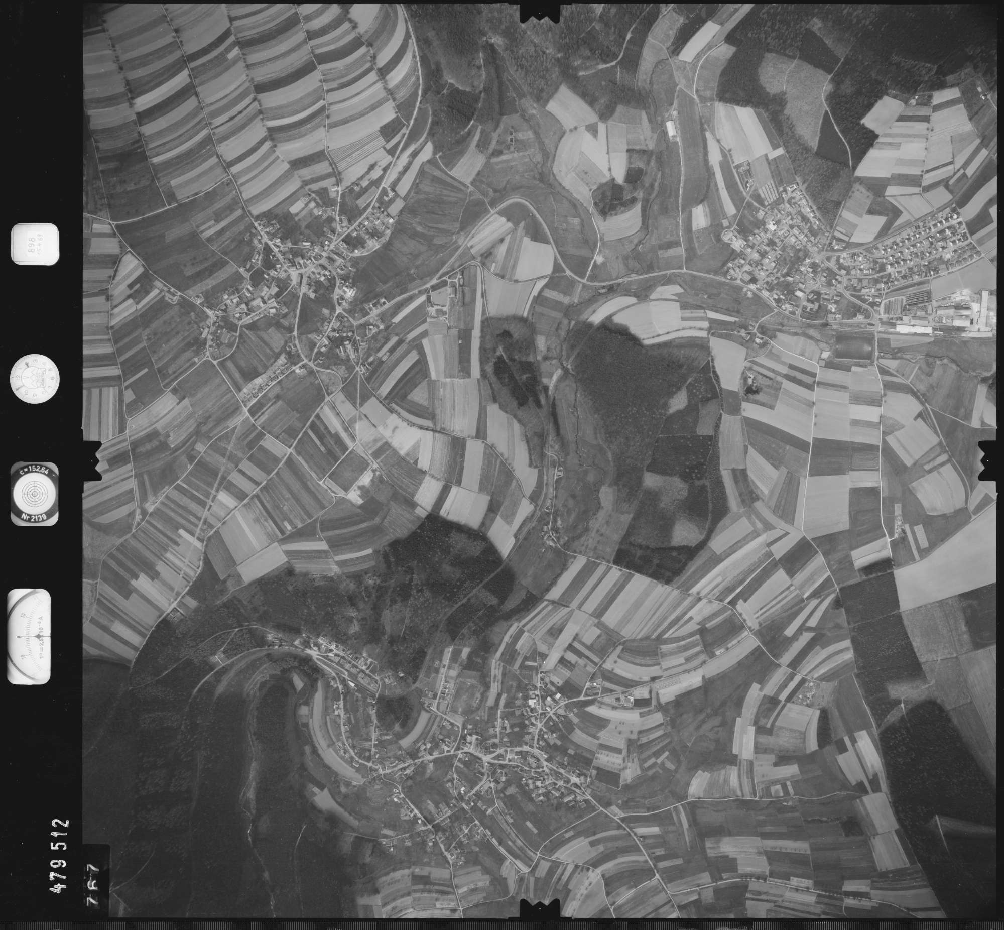 Luftbild: Film 898 Bildnr. 767, Bild 1