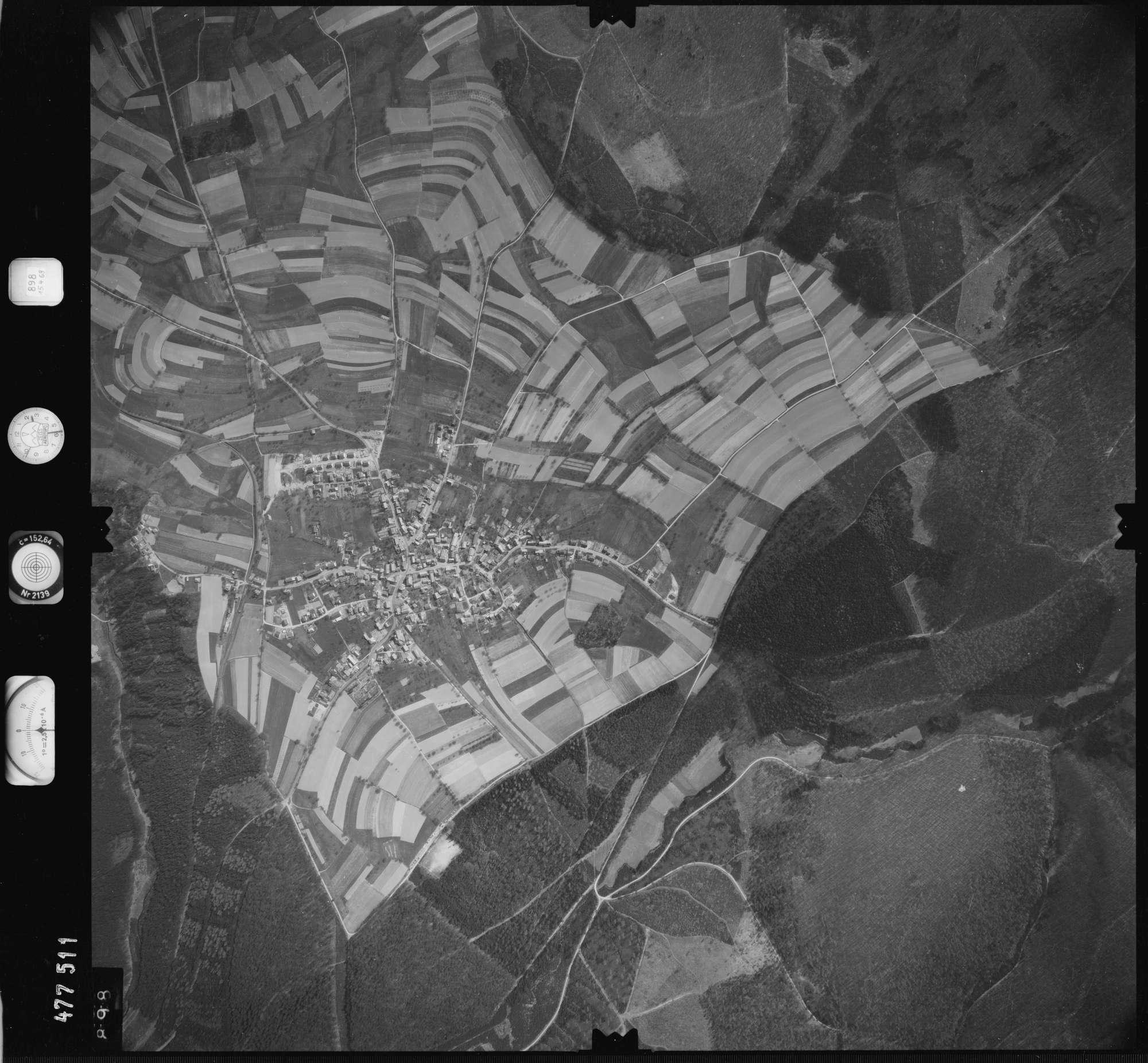 Luftbild: Film 898 Bildnr. 898, Bild 1