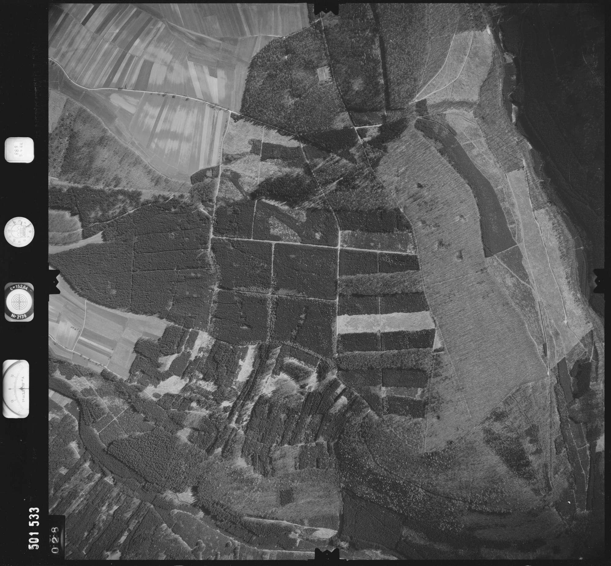 Luftbild: Film 890 Bildnr. 28, Bild 1