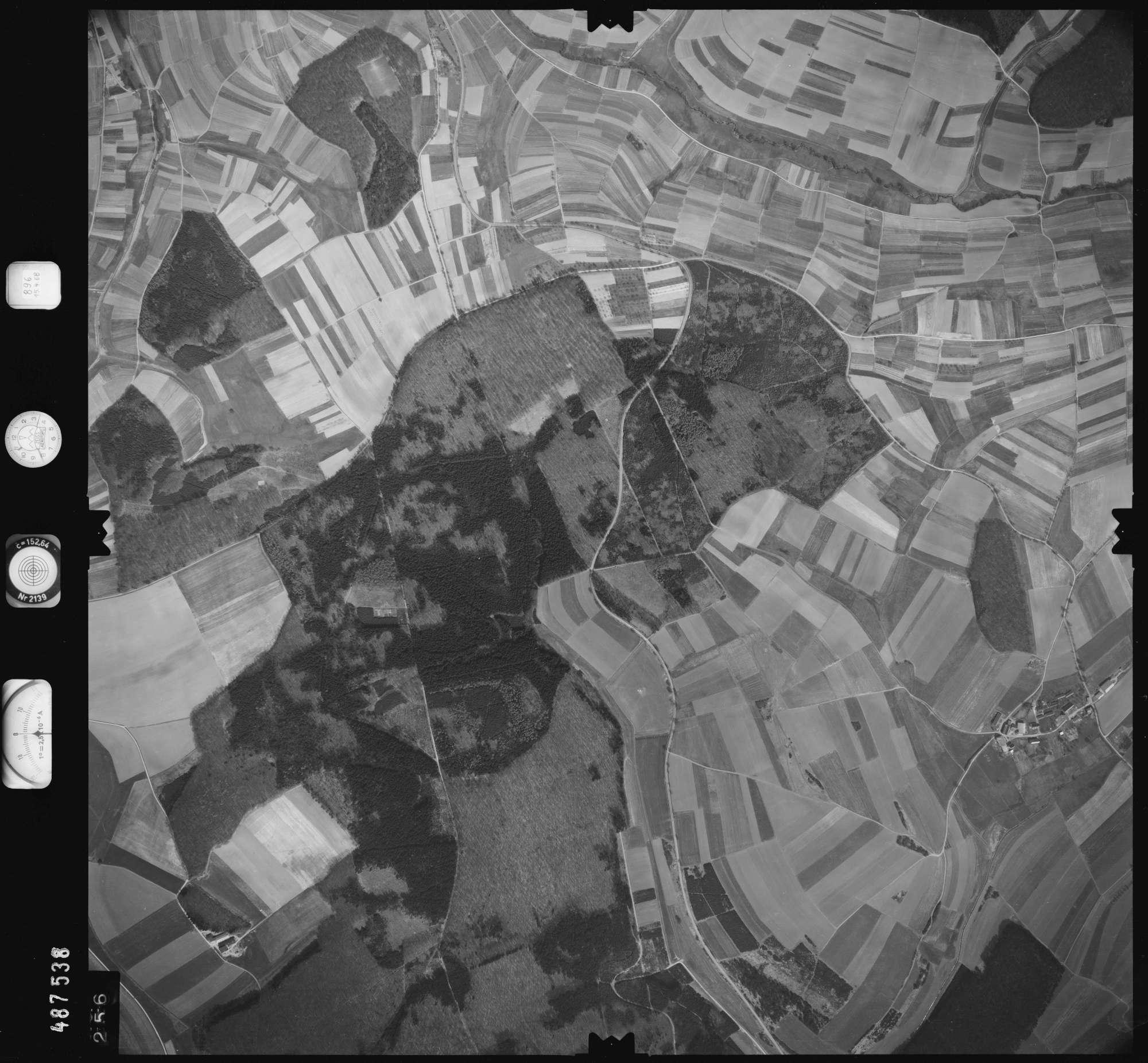 Luftbild: Film 896 Bildnr. 256, Bild 1