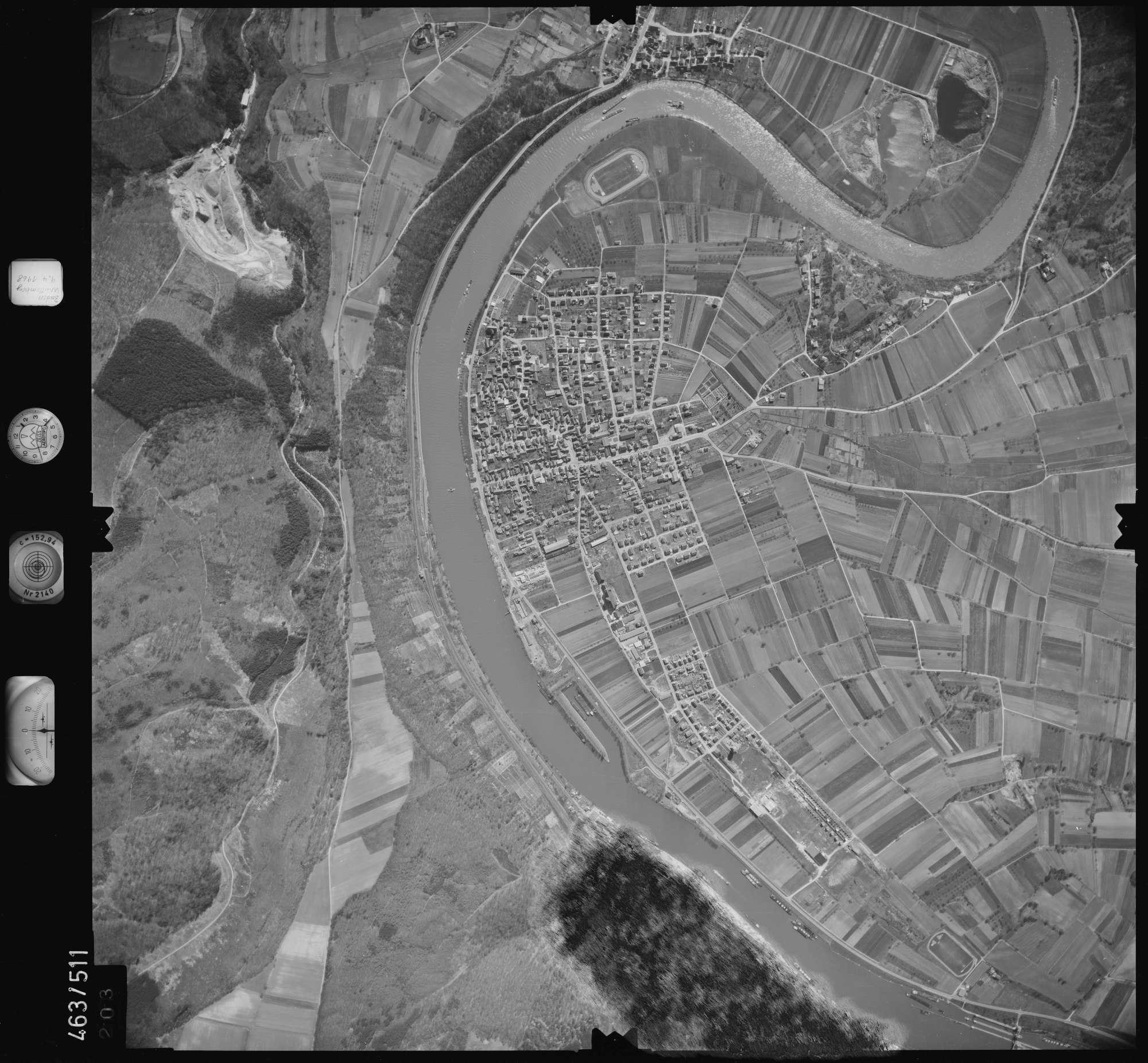 Luftbild: Film 102 Bildnr. 203, Bild 1