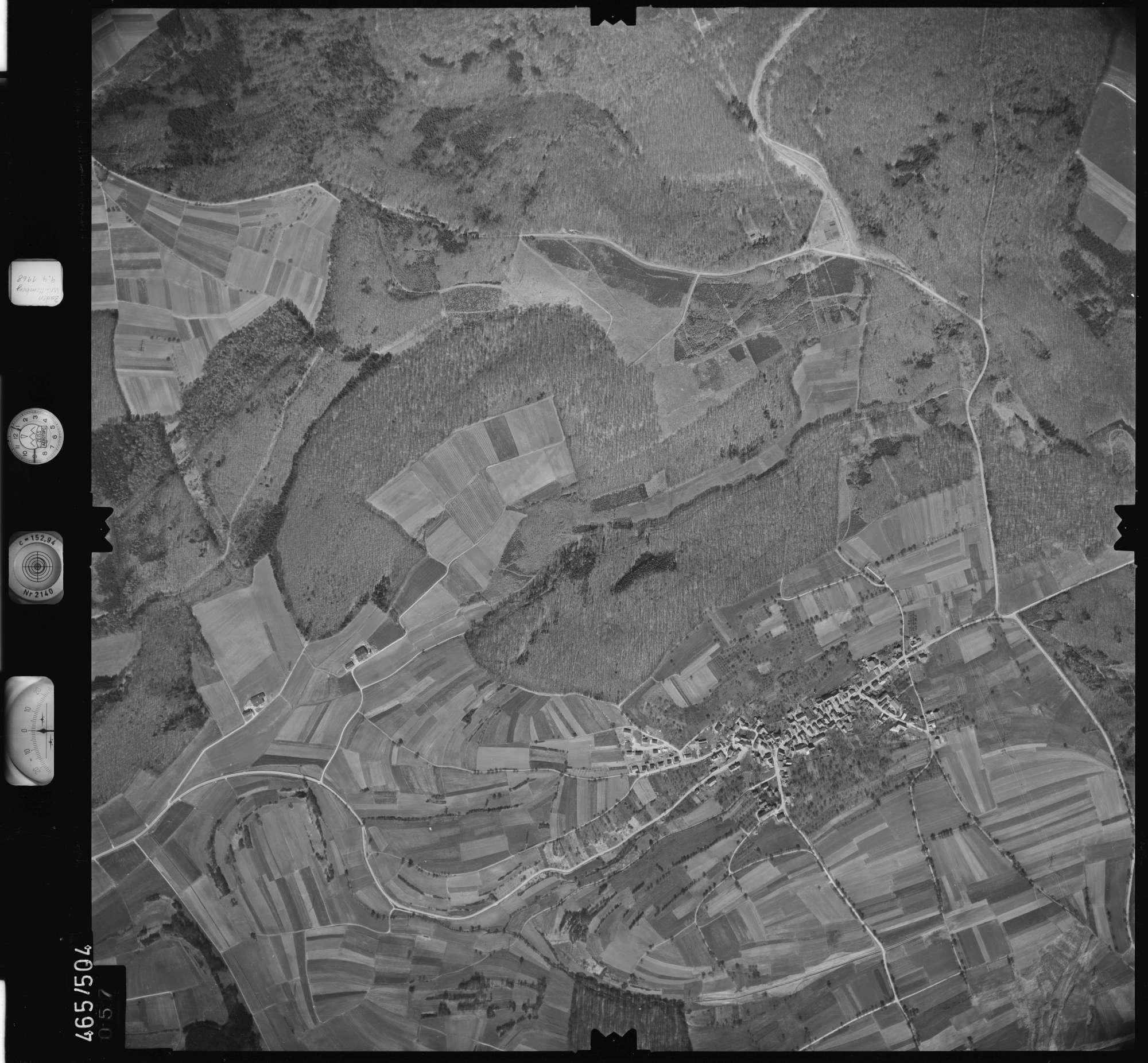 Luftbild: Film 102 Bildnr. 57, Bild 1