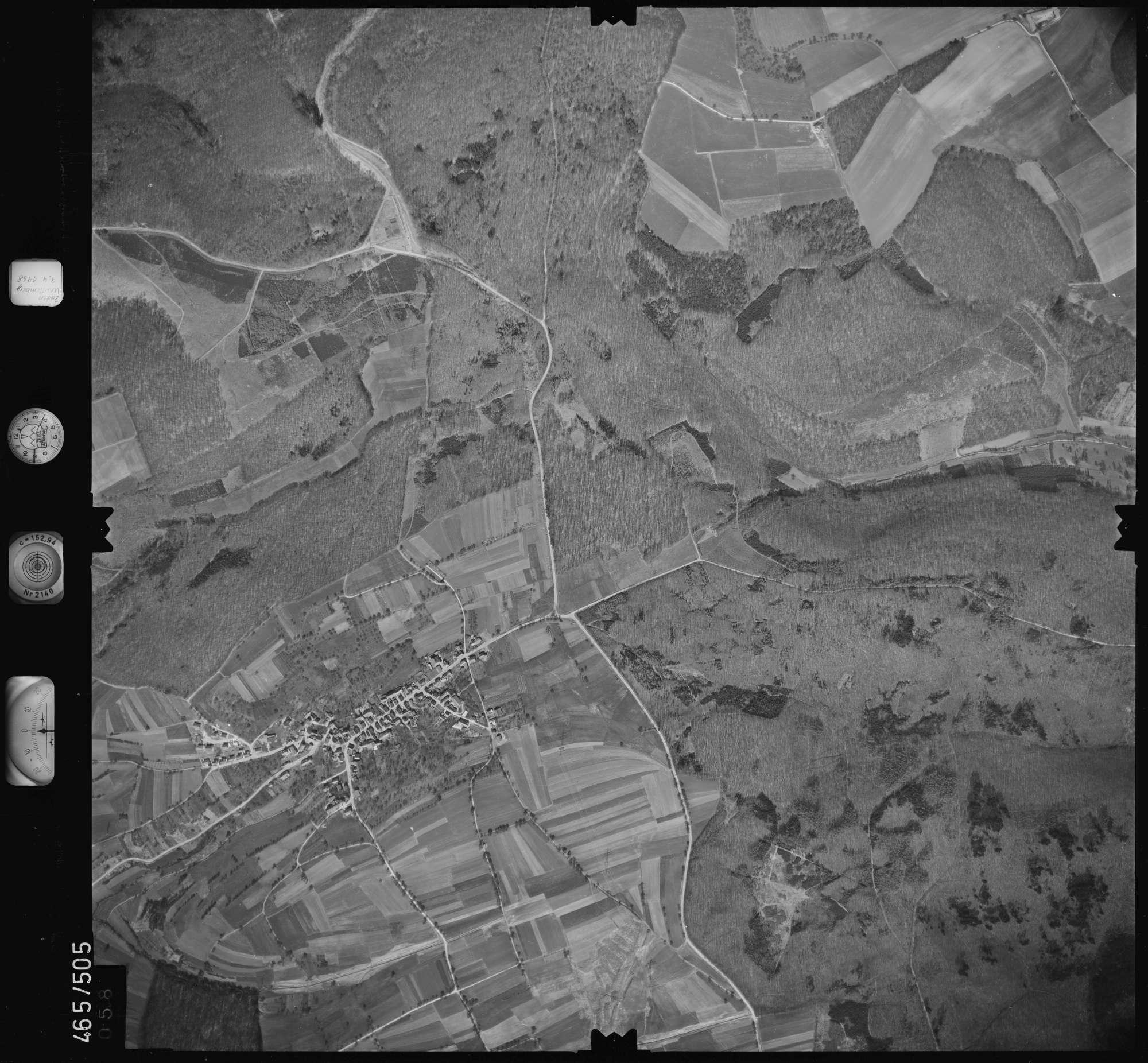 Luftbild: Film 102 Bildnr. 58, Bild 1
