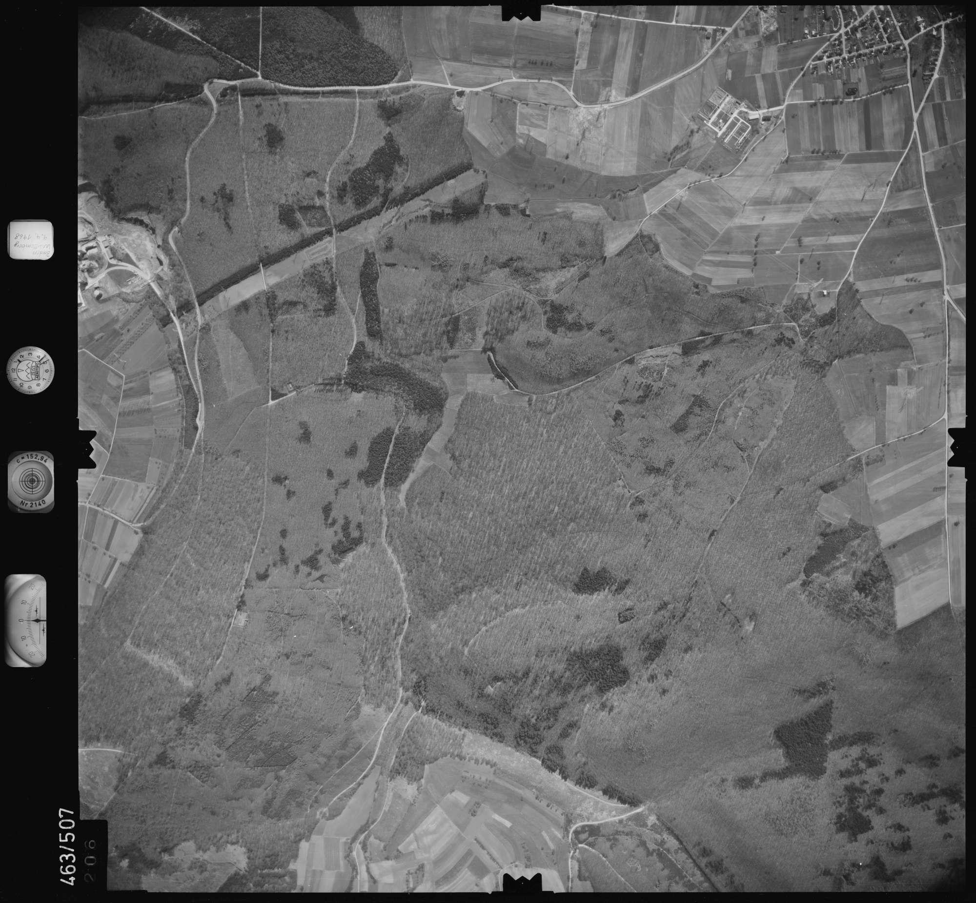 Luftbild: Film 102 Bildnr. 206, Bild 1