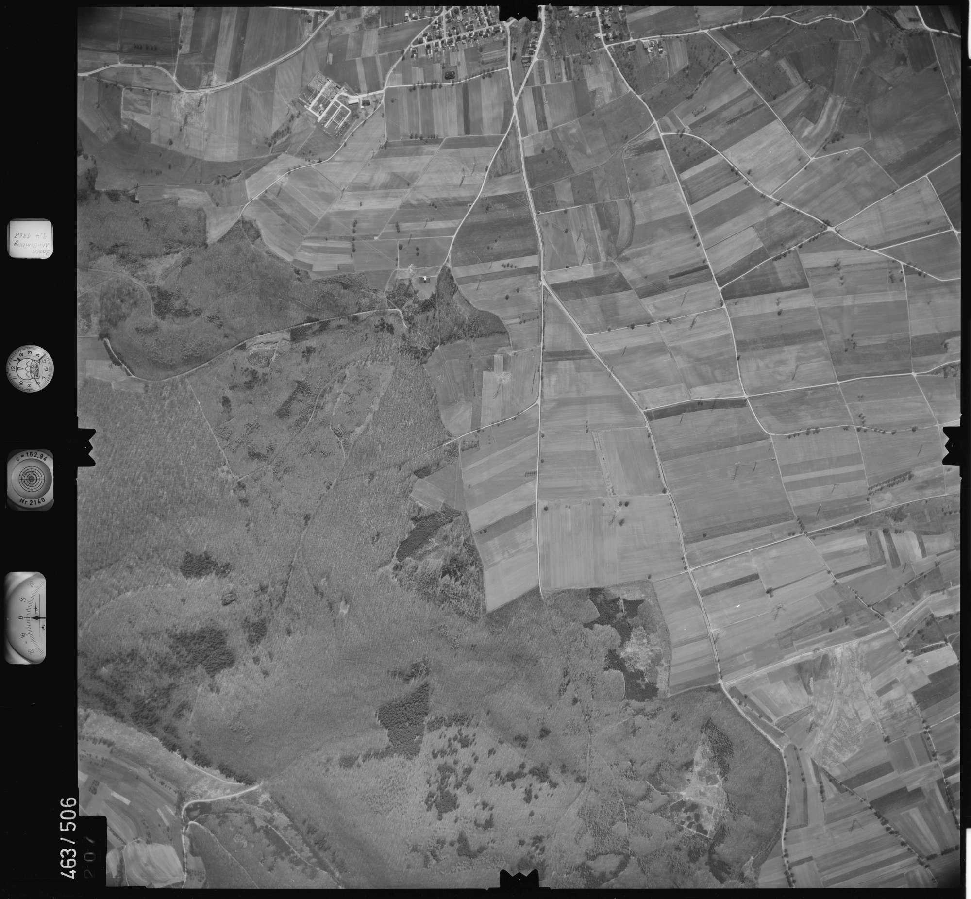 Luftbild: Film 102 Bildnr. 207, Bild 1