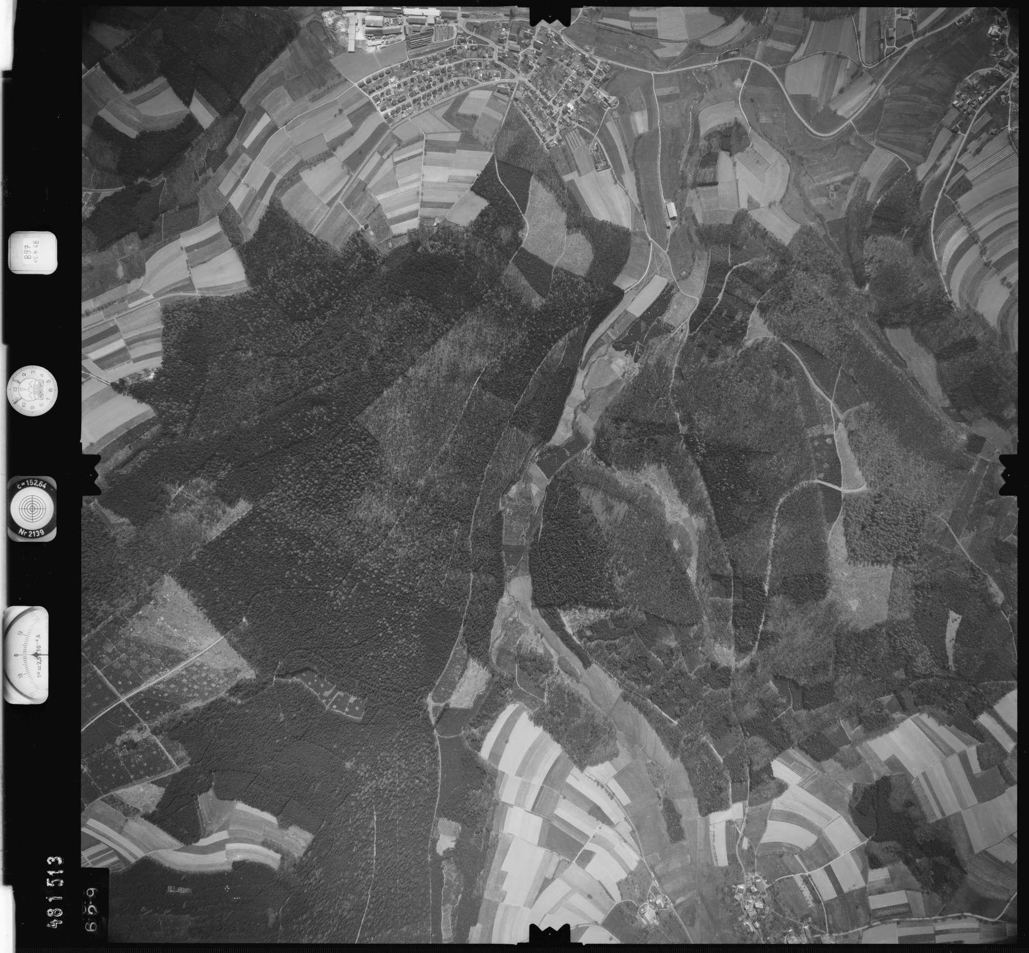 Luftbild: Film 897 Bildnr. 629, Bild 1