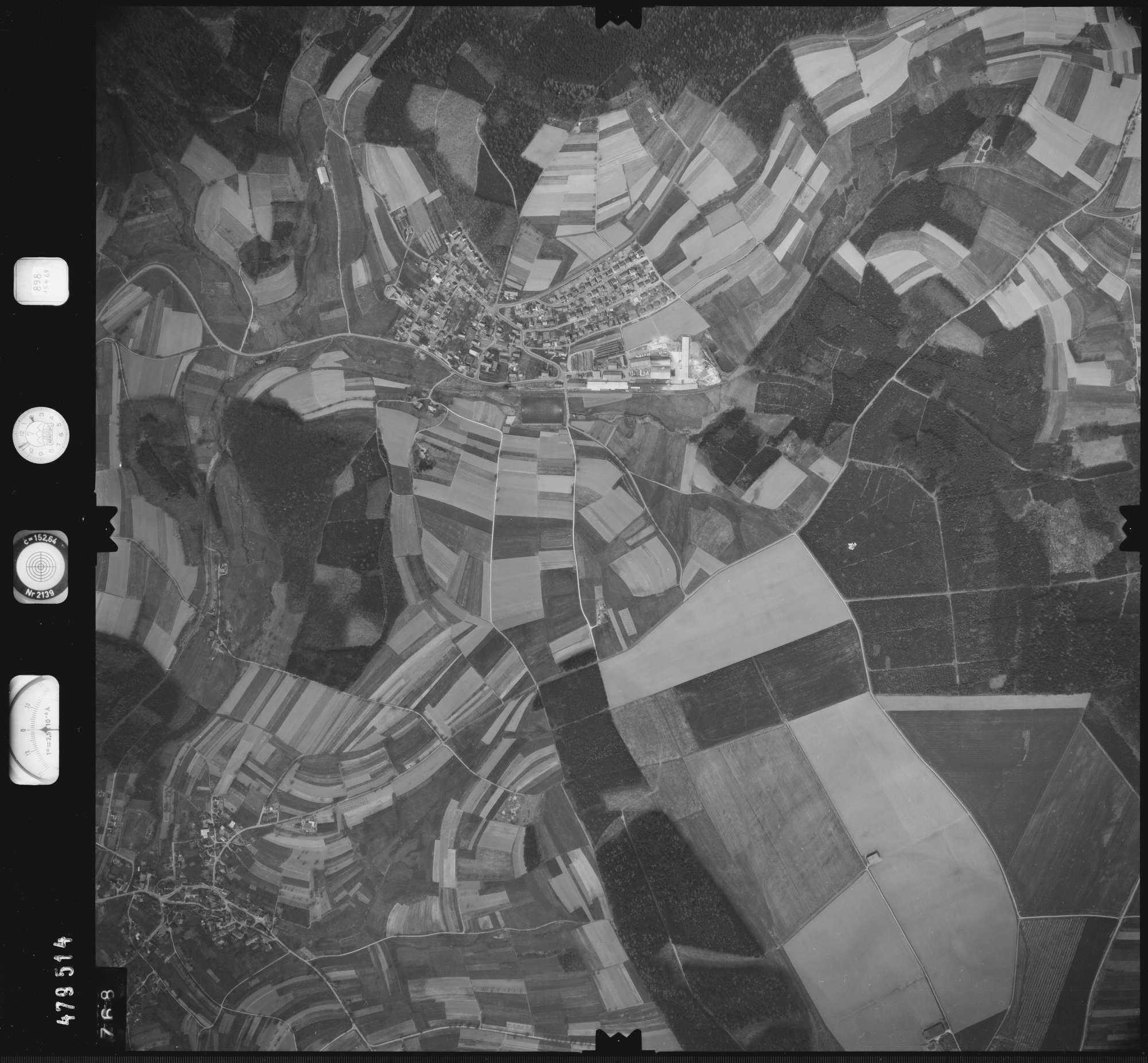 Luftbild: Film 898 Bildnr. 768, Bild 1