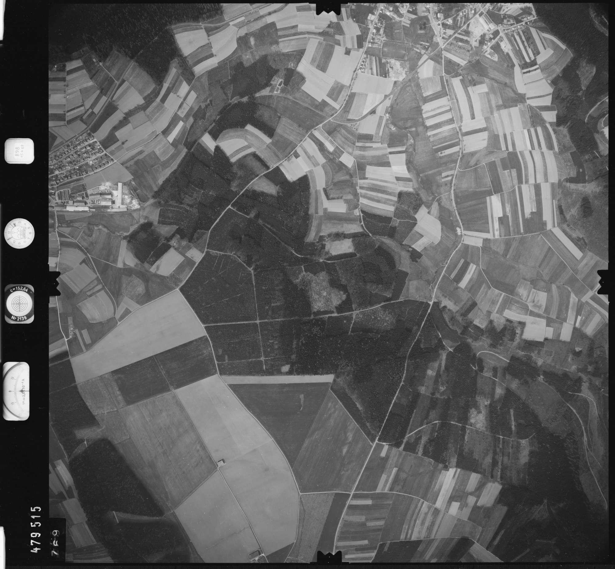 Luftbild: Film 898 Bildnr. 769, Bild 1