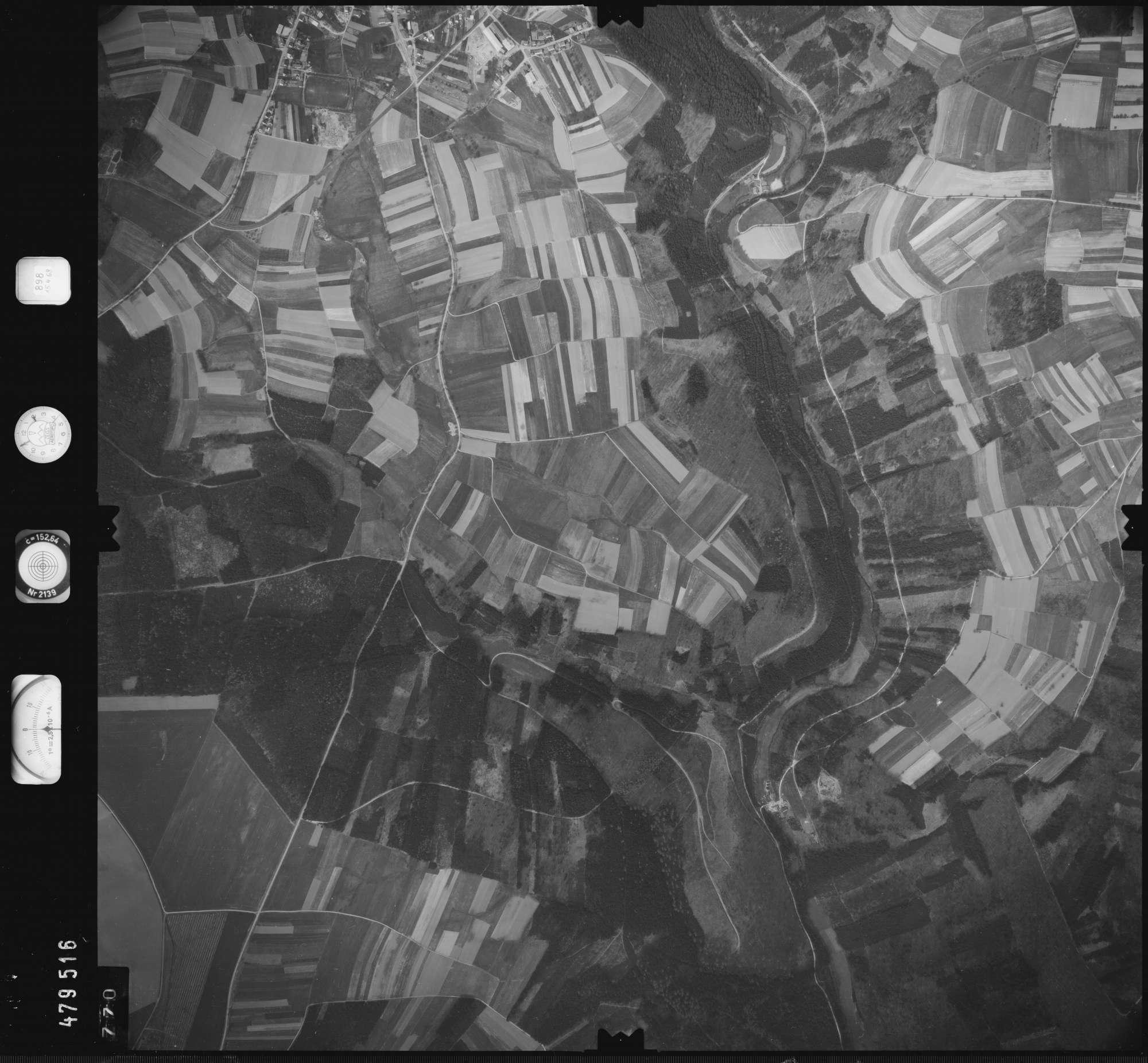 Luftbild: Film 898 Bildnr. 770, Bild 1