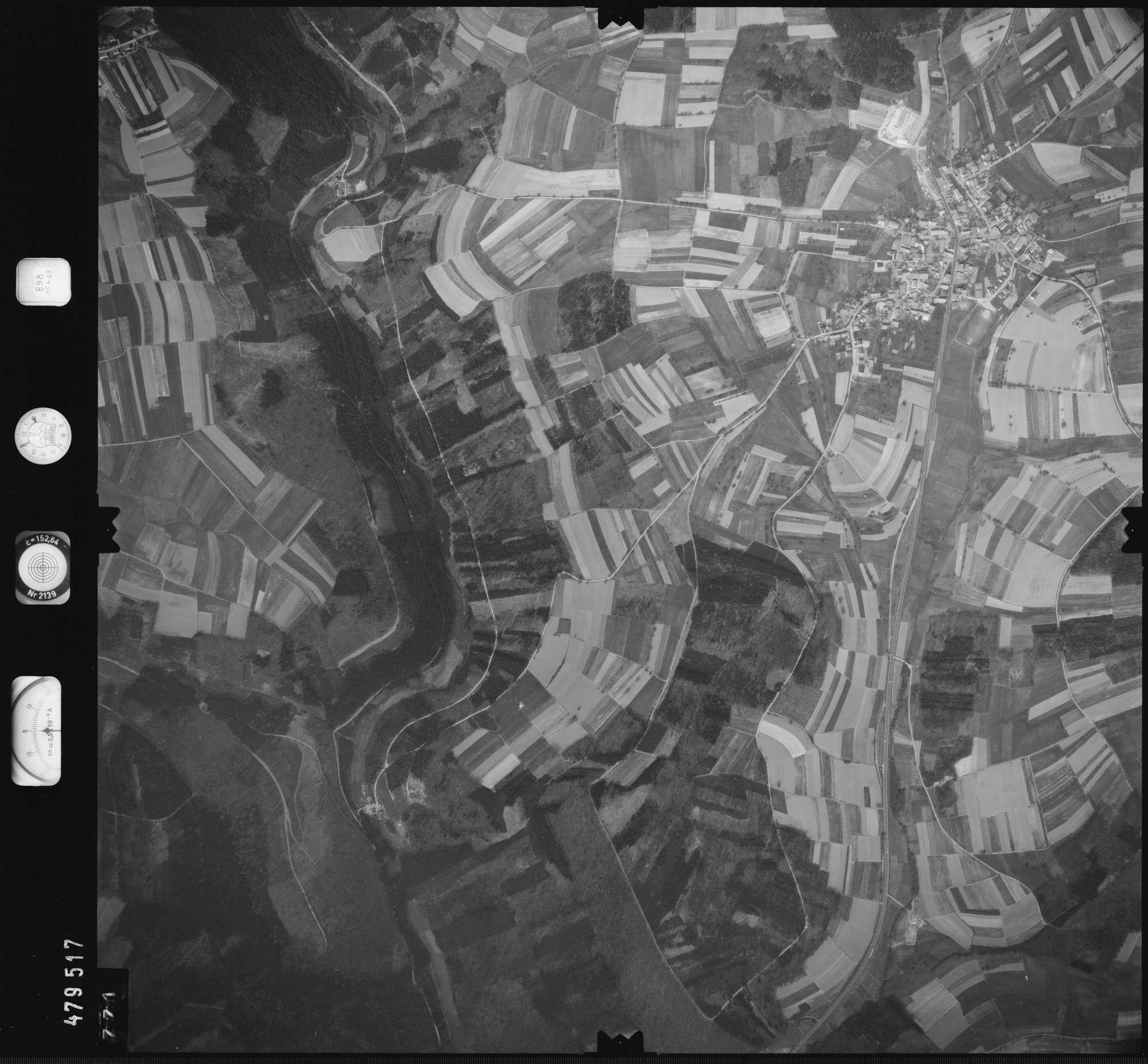 Luftbild: Film 898 Bildnr. 771, Bild 1
