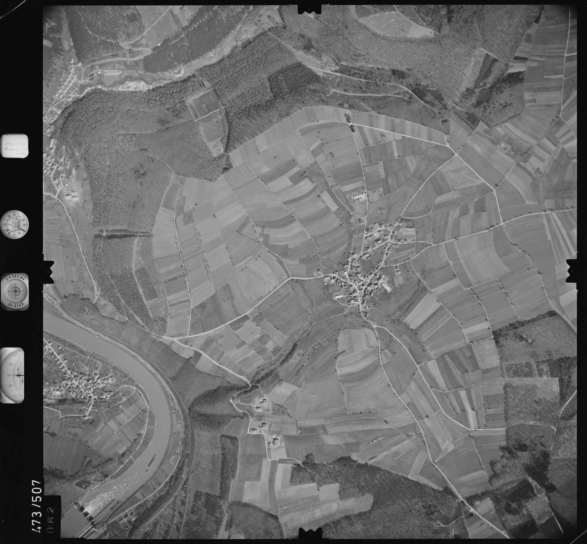 Luftbild: Film 100 Bildnr. 62, Bild 1