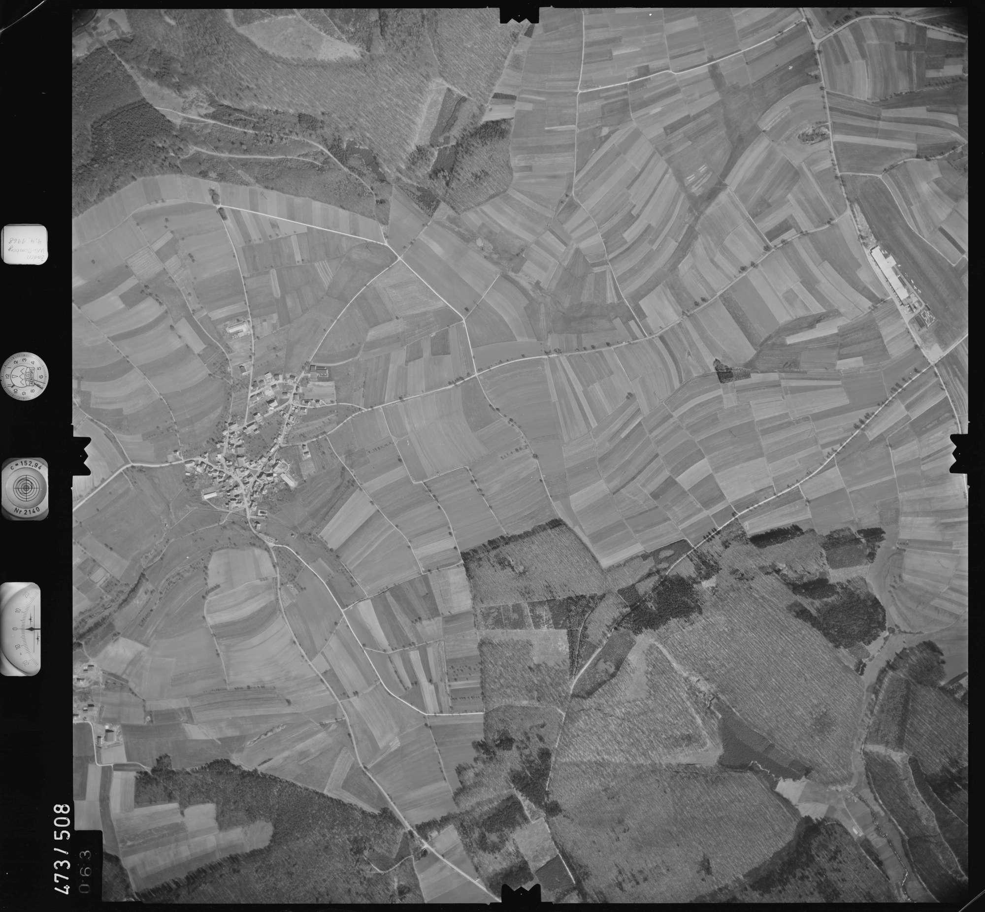 Luftbild: Film 100 Bildnr. 63, Bild 1