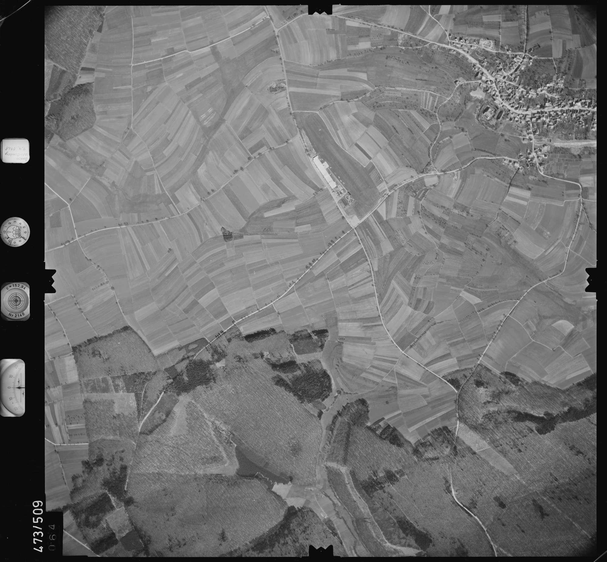 Luftbild: Film 100 Bildnr. 64, Bild 1