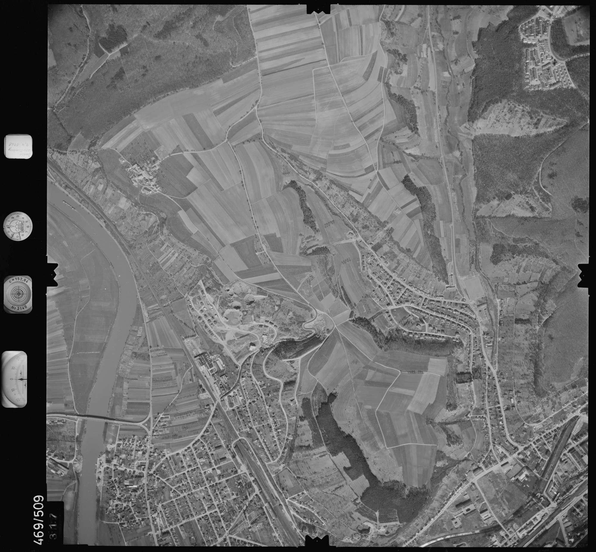 Luftbild: Film 101 Bildnr. 317, Bild 1