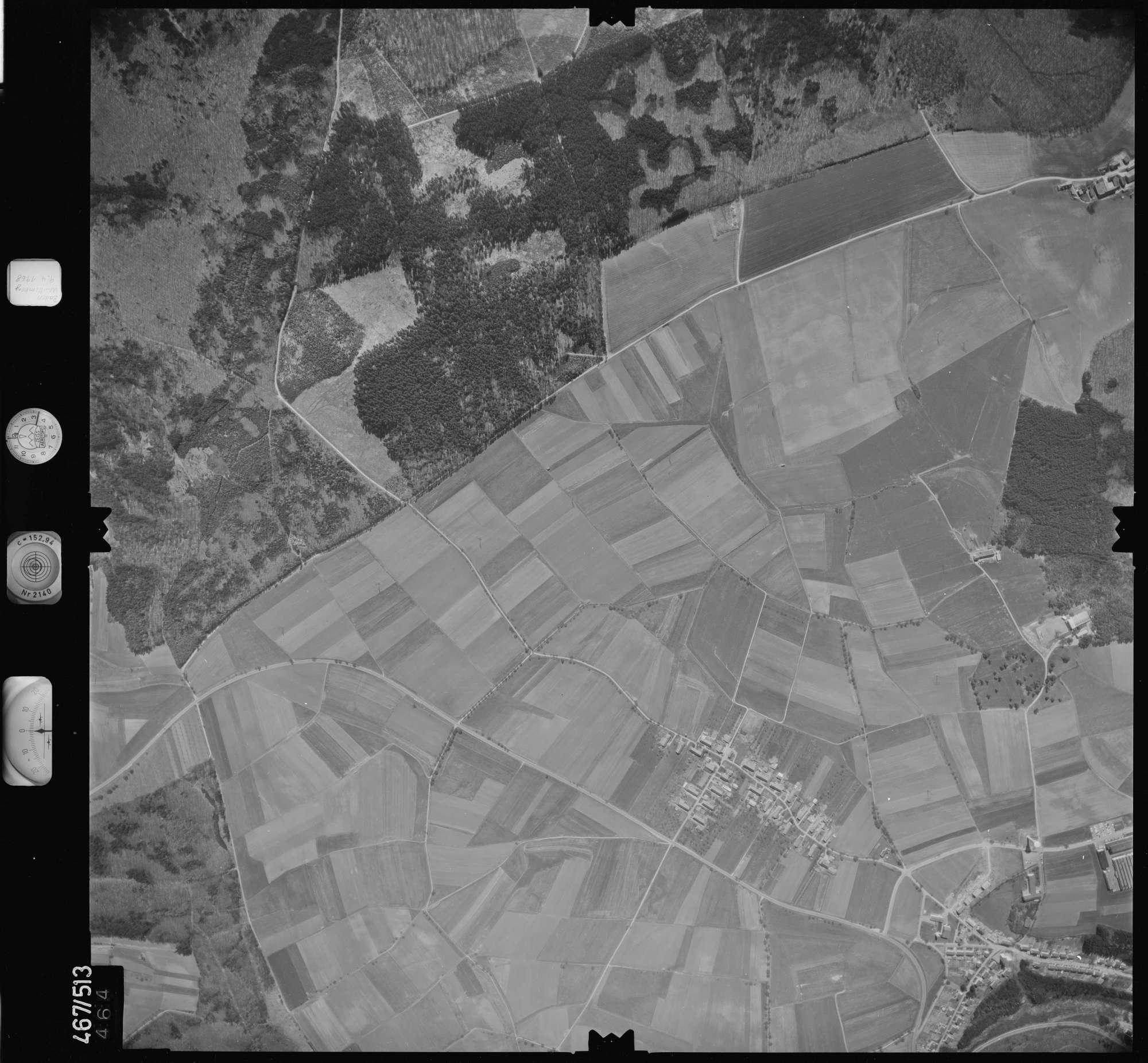 Luftbild: Film 101 Bildnr. 464, Bild 1