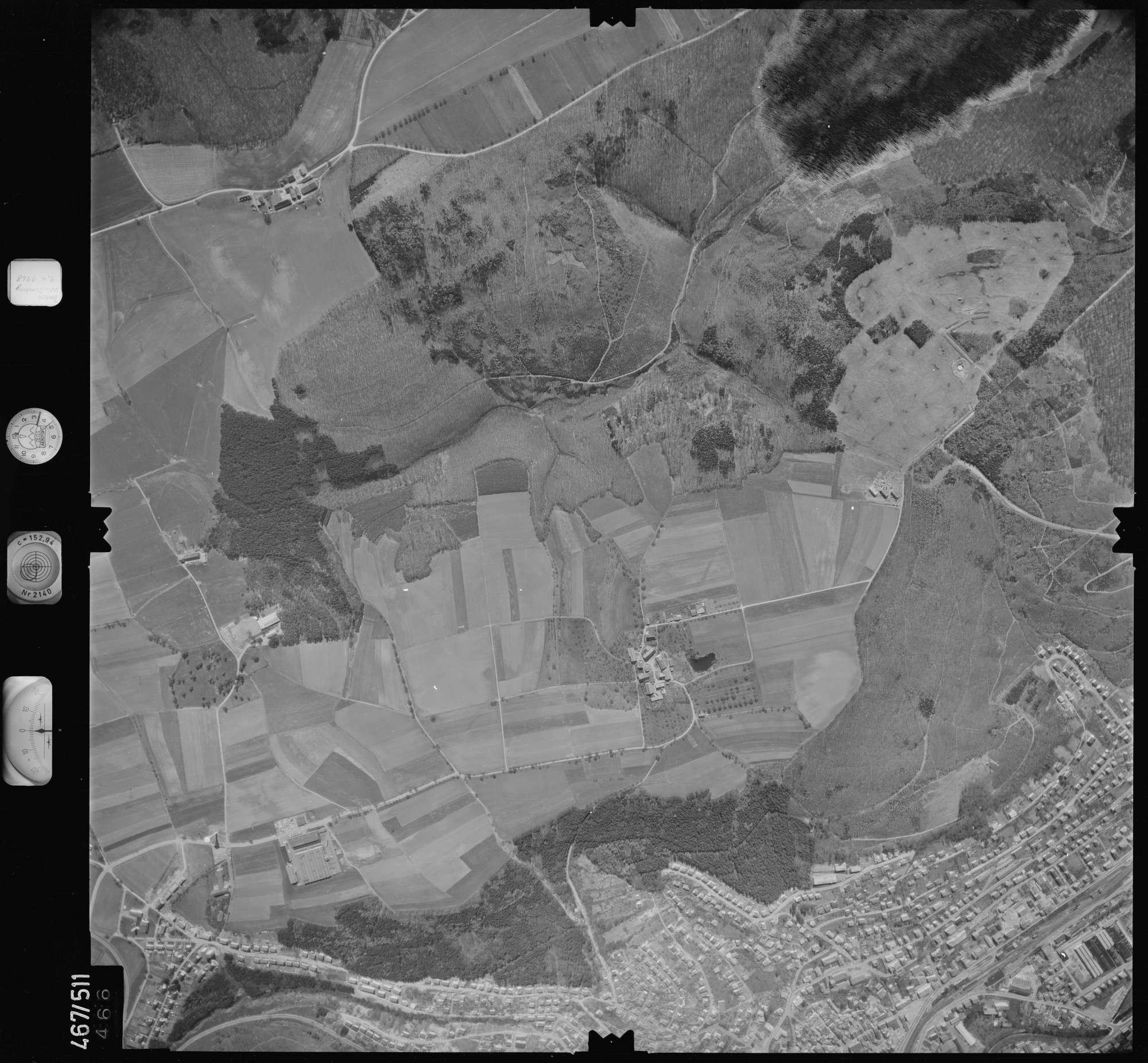 Luftbild: Film 101 Bildnr. 466, Bild 1