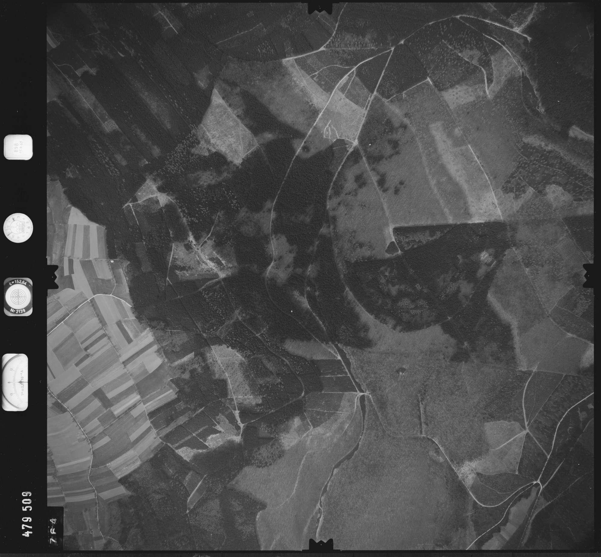 Luftbild: Film 898 Bildnr. 764, Bild 1