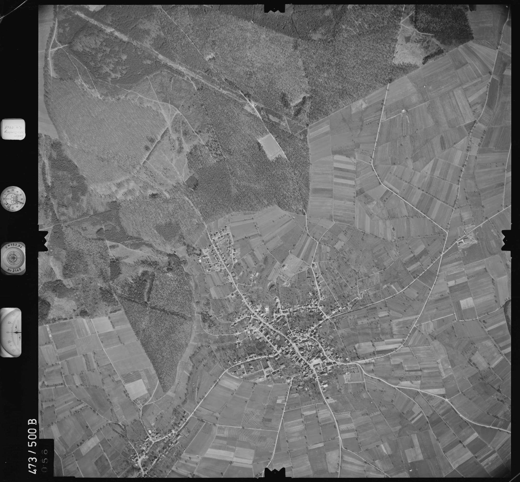 Luftbild: Film 100 Bildnr. 56, Bild 1