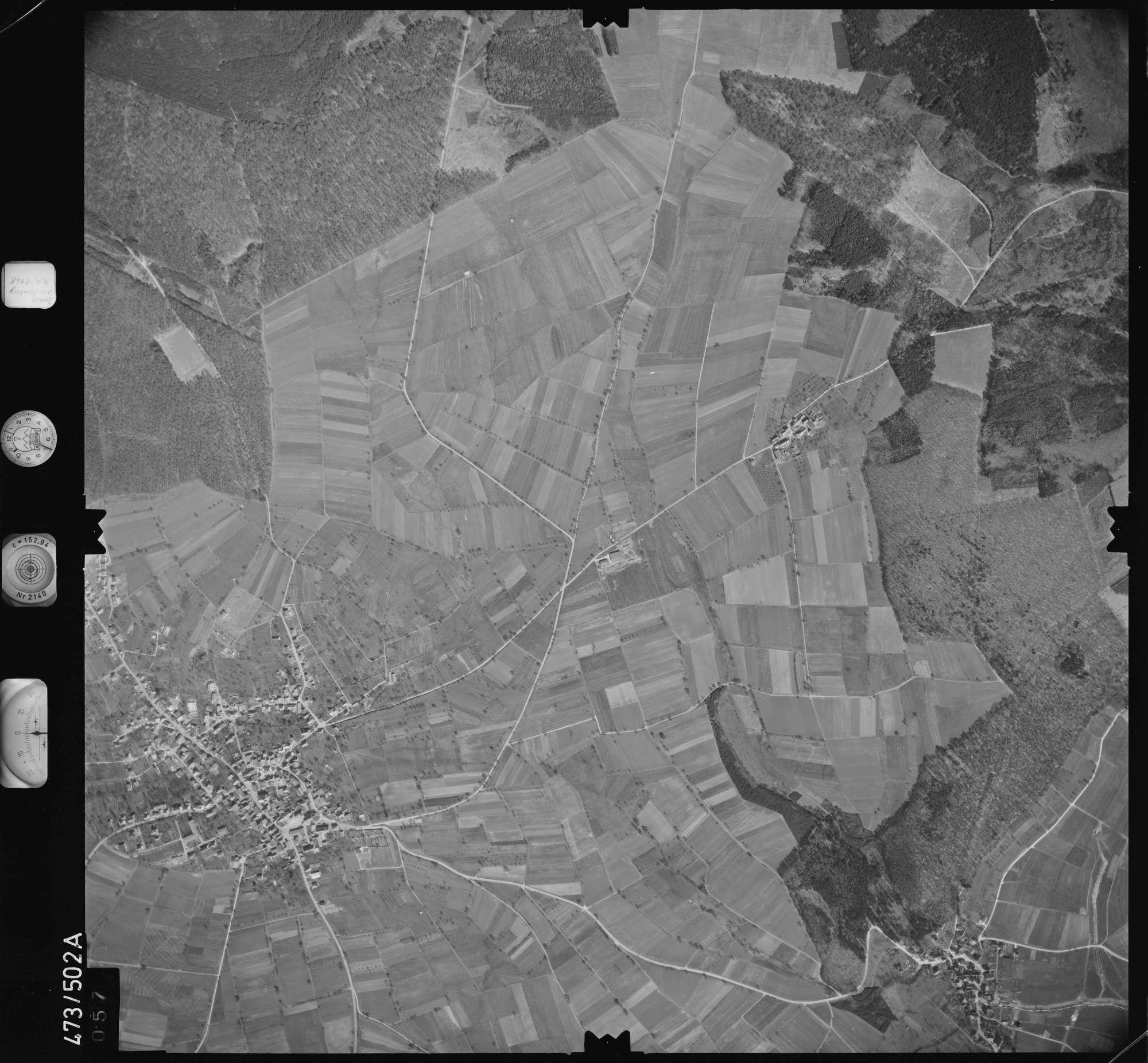 Luftbild: Film 100 Bildnr. 57, Bild 1