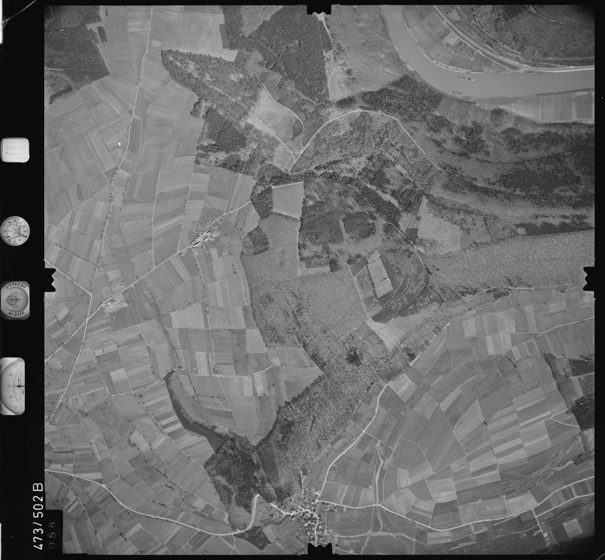 Luftbild: Film 100 Bildnr. 58, Bild 1