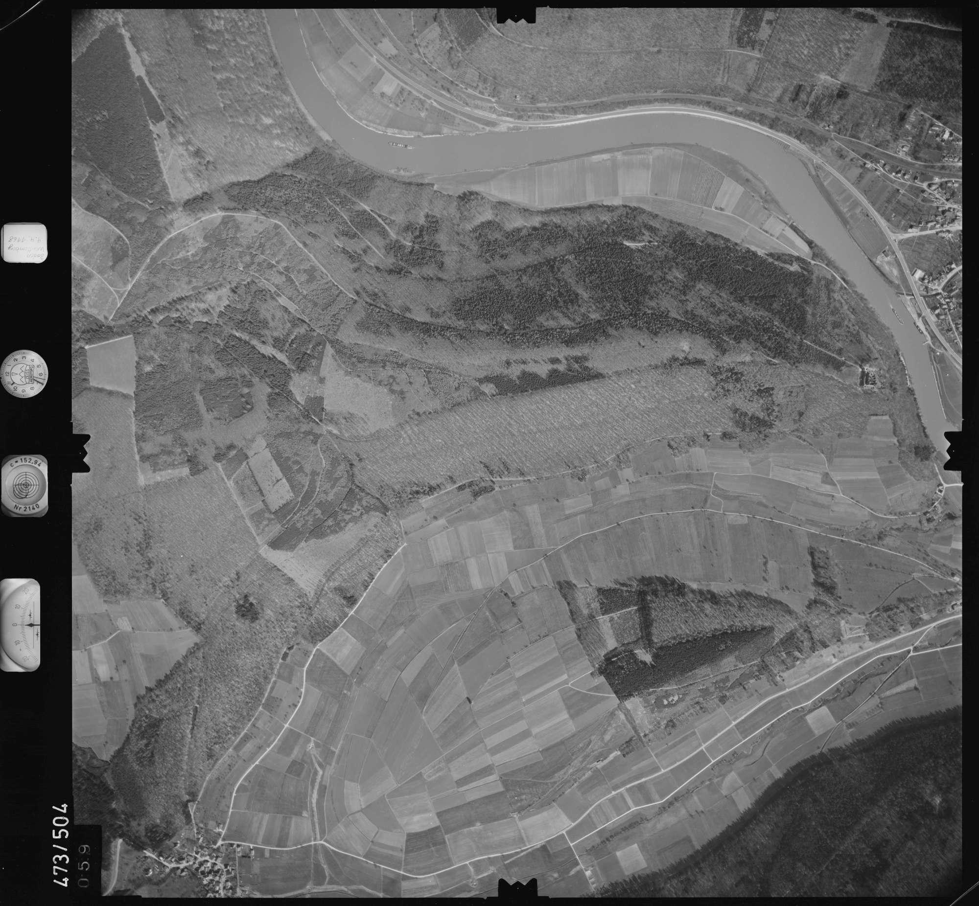 Luftbild: Film 100 Bildnr. 59, Bild 1