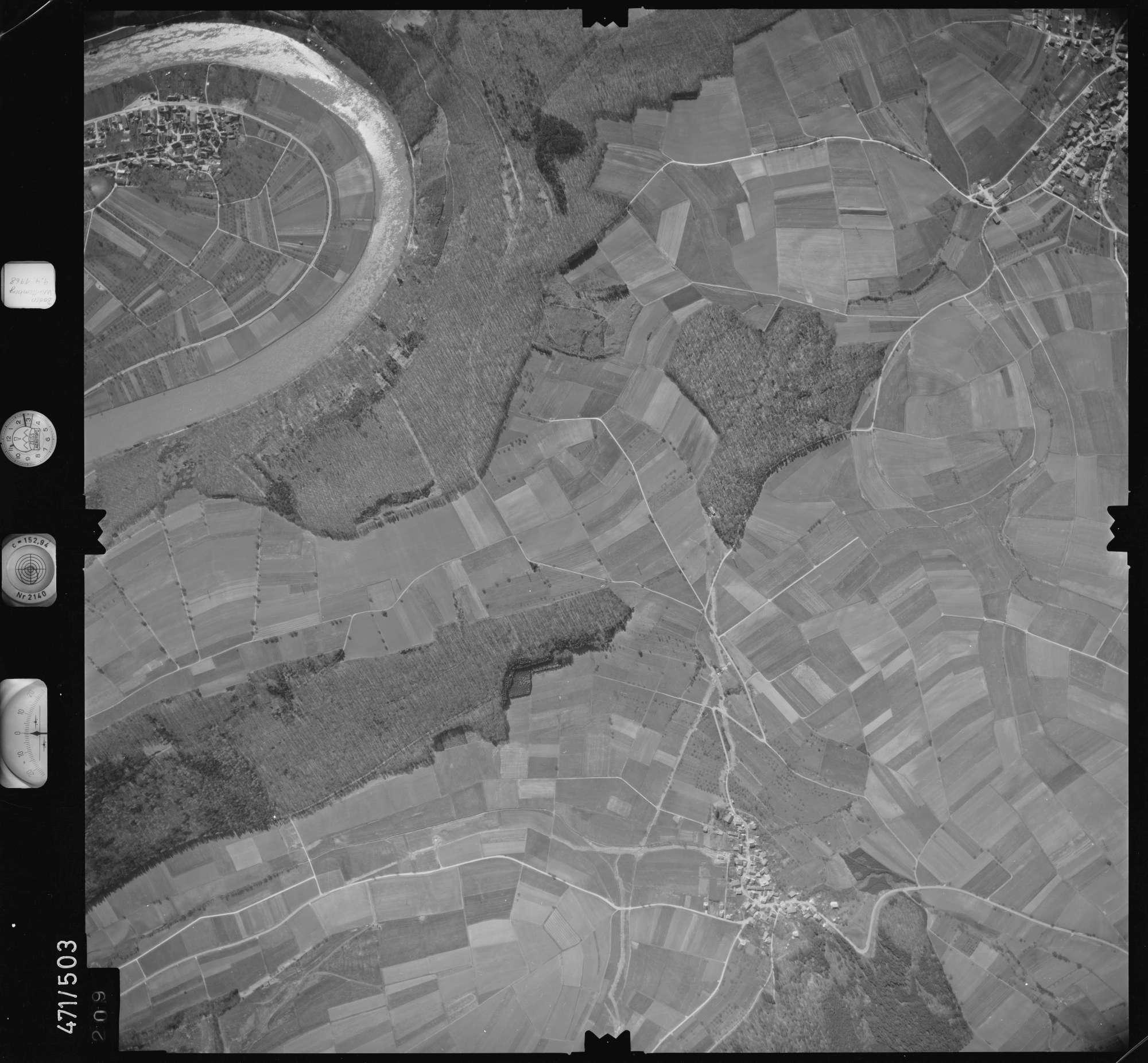 Luftbild: Film 100 Bildnr. 209, Bild 1