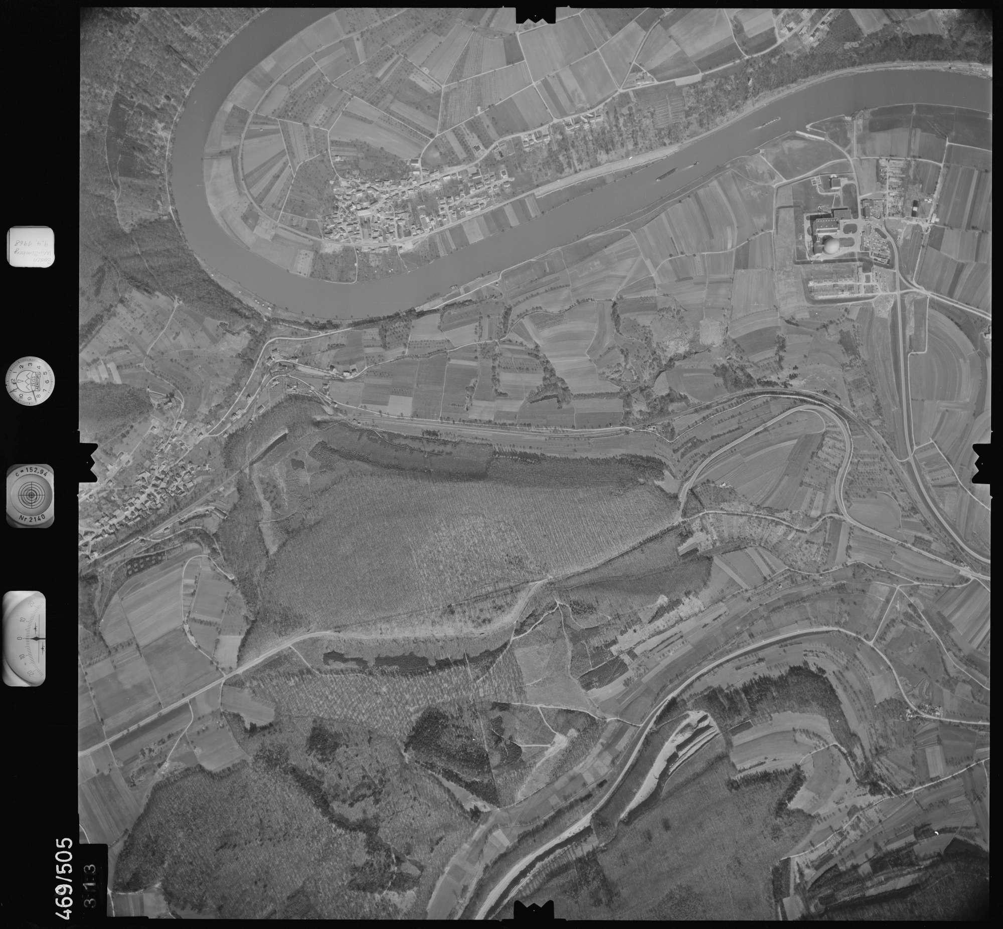 Luftbild: Film 101 Bildnr. 313, Bild 1