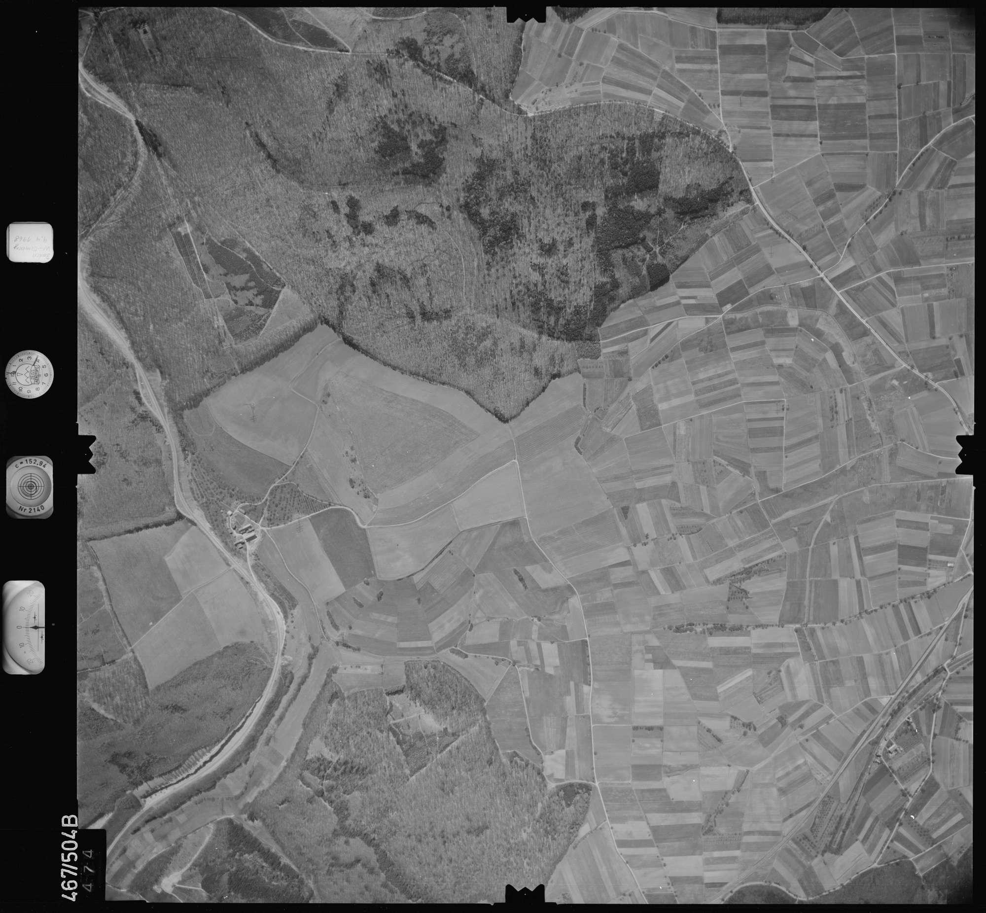 Luftbild: Film 101 Bildnr. 474, Bild 1