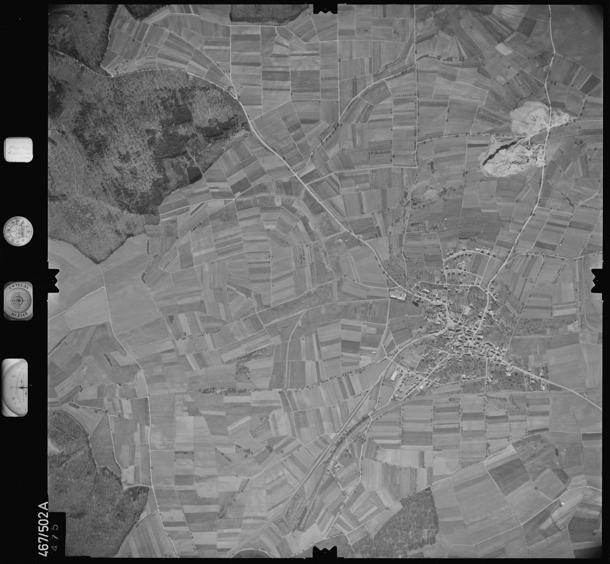 Luftbild: Film 101 Bildnr. 475, Bild 1