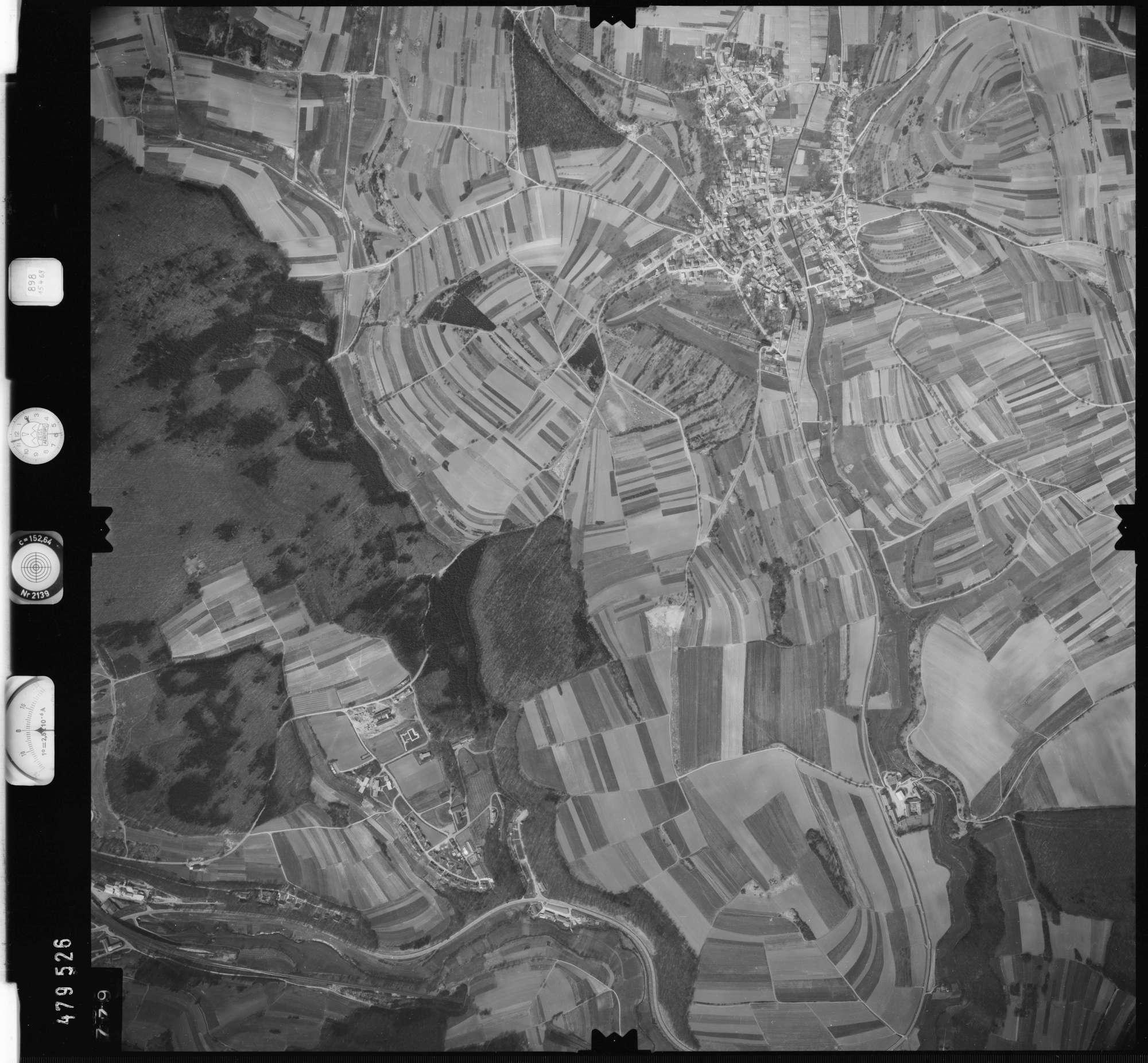 Luftbild: Film 898 Bildnr. 779, Bild 1