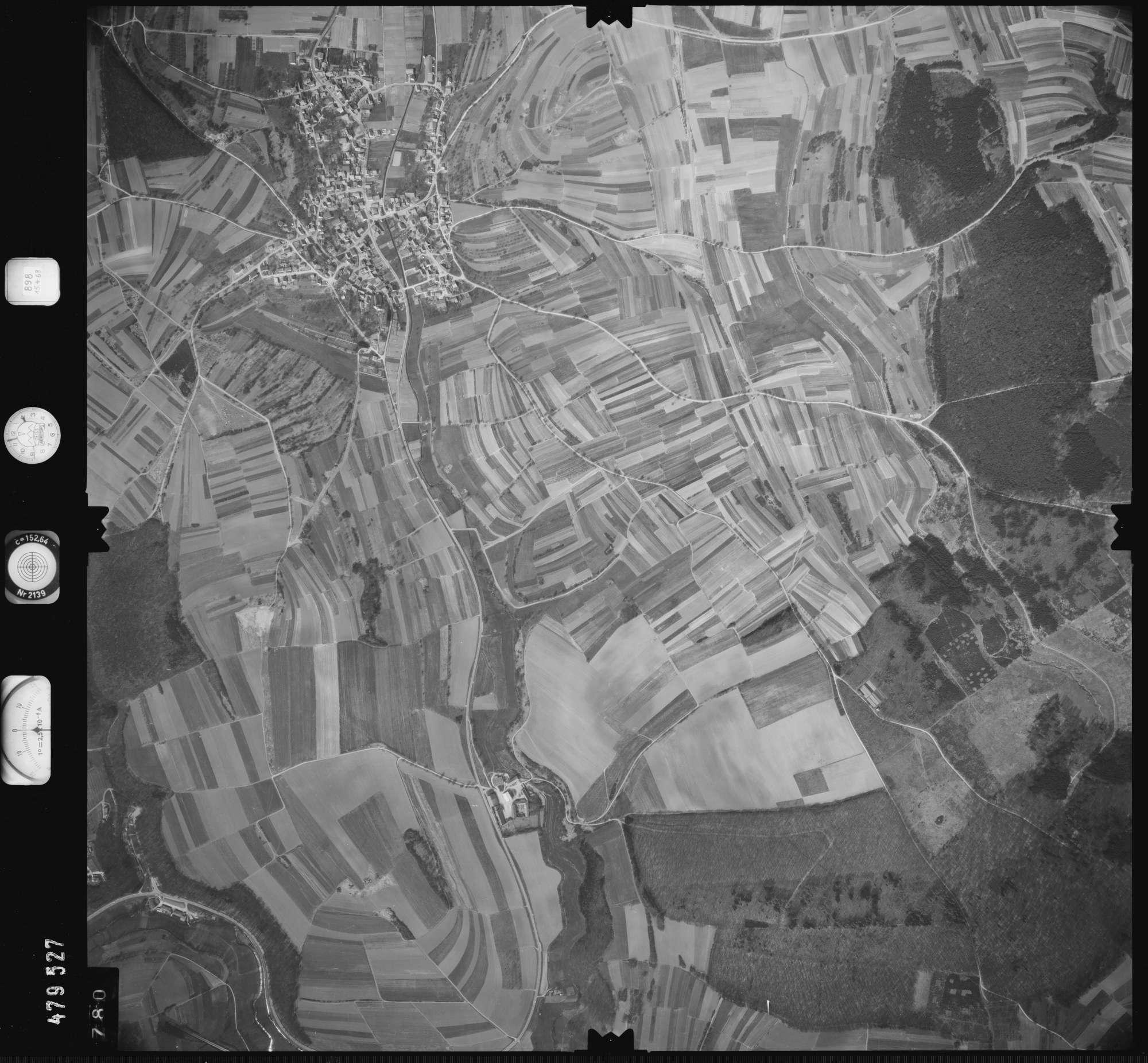 Luftbild: Film 898 Bildnr. 780, Bild 1