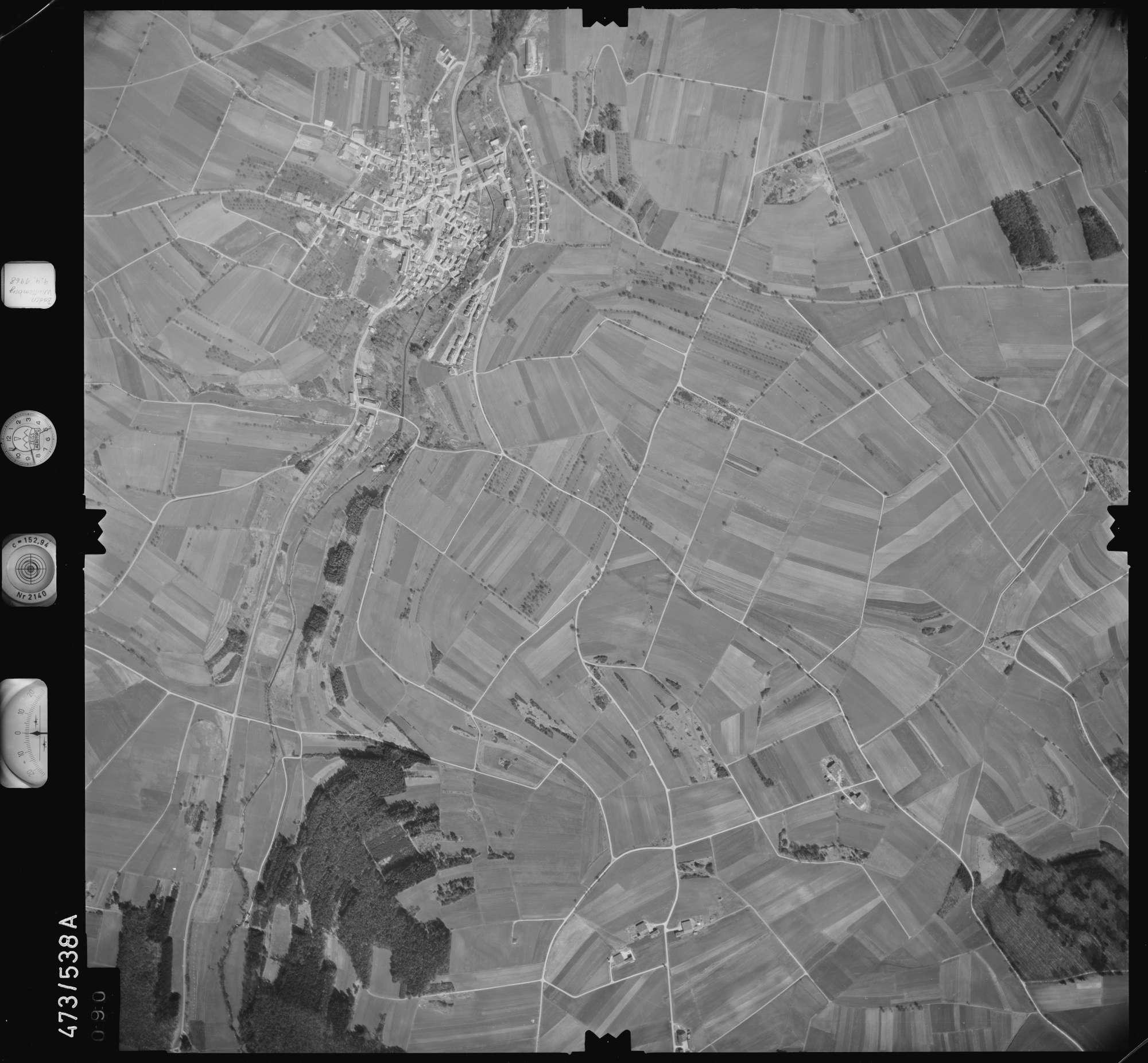 Luftbild: Film 100 Bildnr. 90, Bild 1