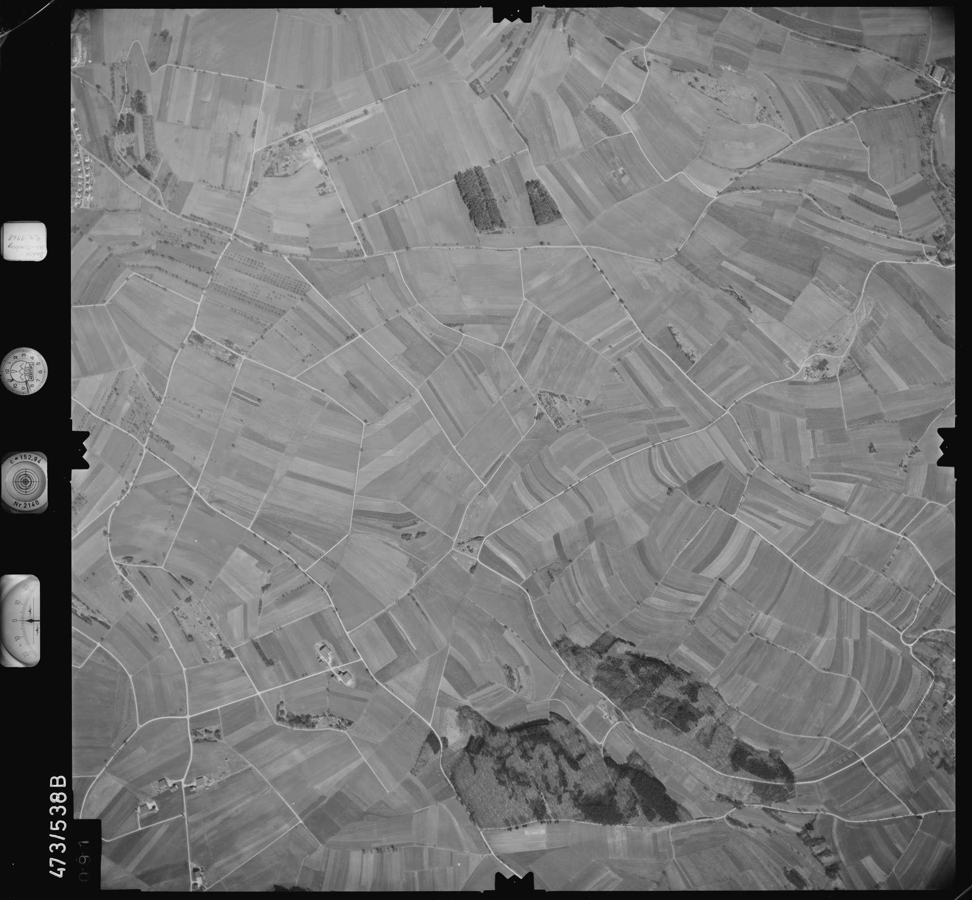 Luftbild: Film 100 Bildnr. 91, Bild 1