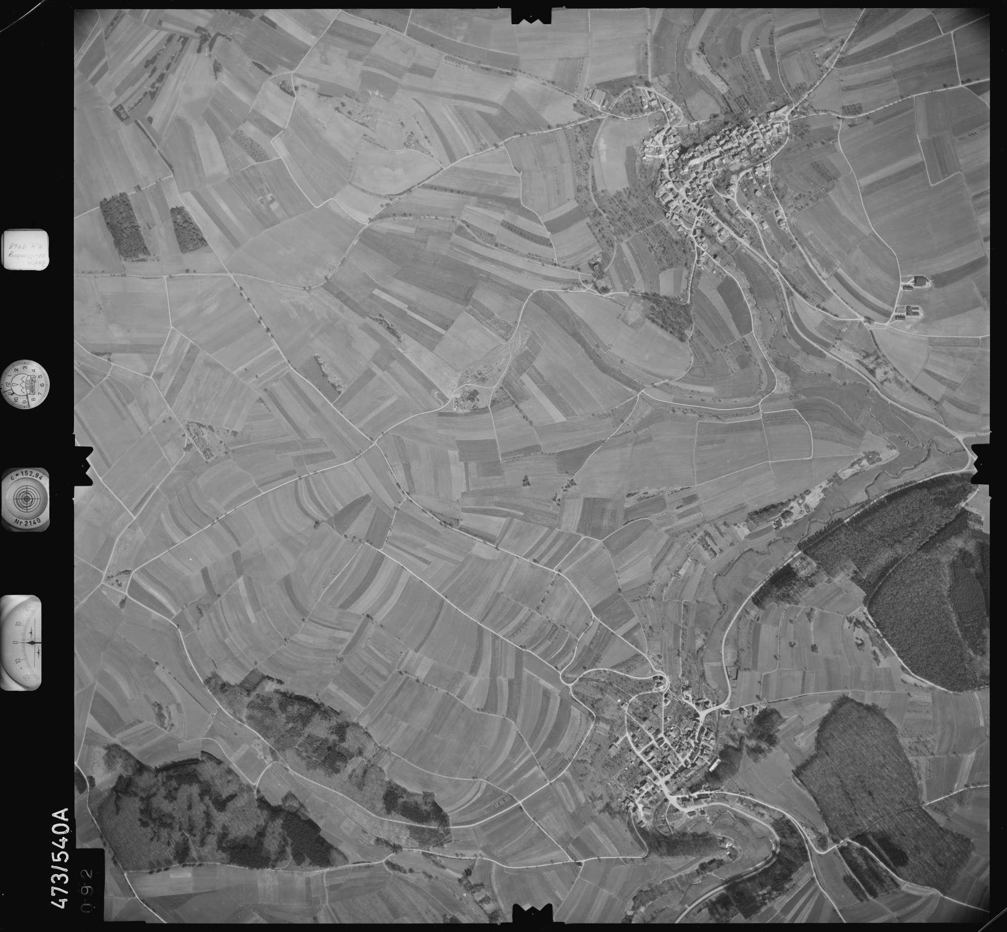 Luftbild: Film 100 Bildnr. 92, Bild 1