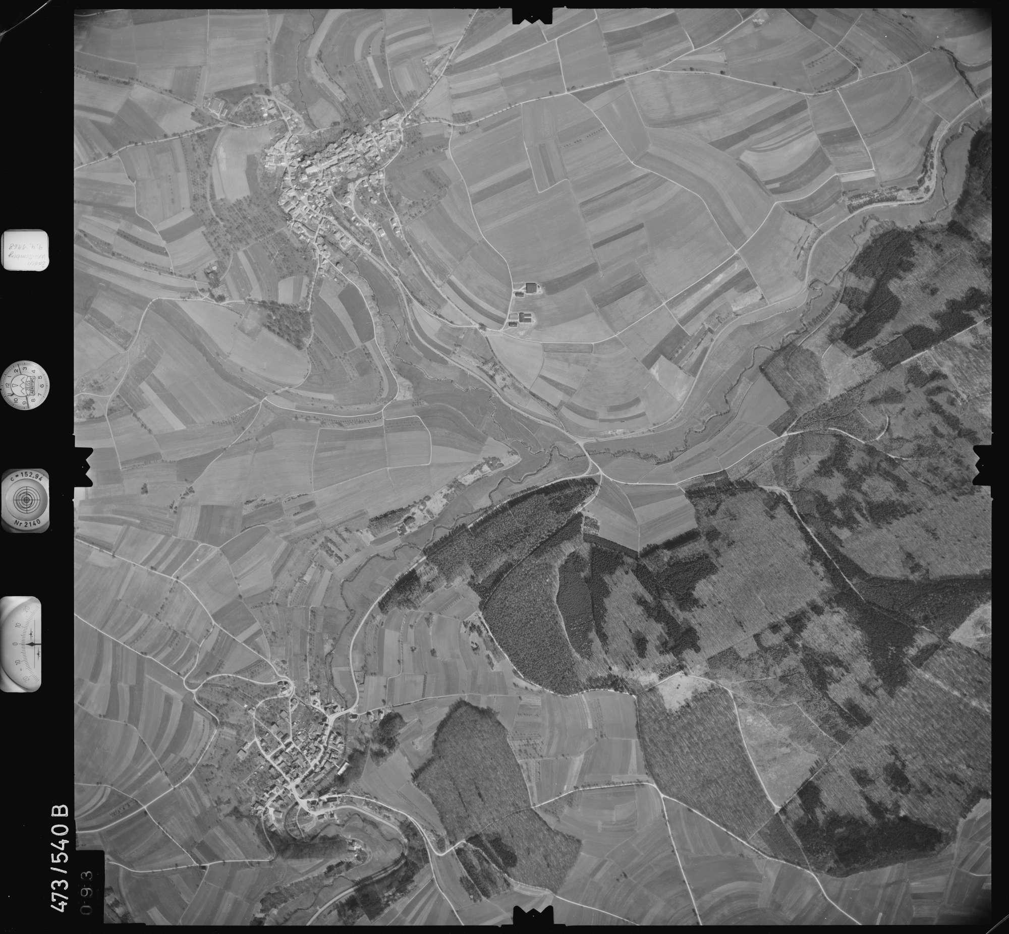 Luftbild: Film 100 Bildnr. 93, Bild 1