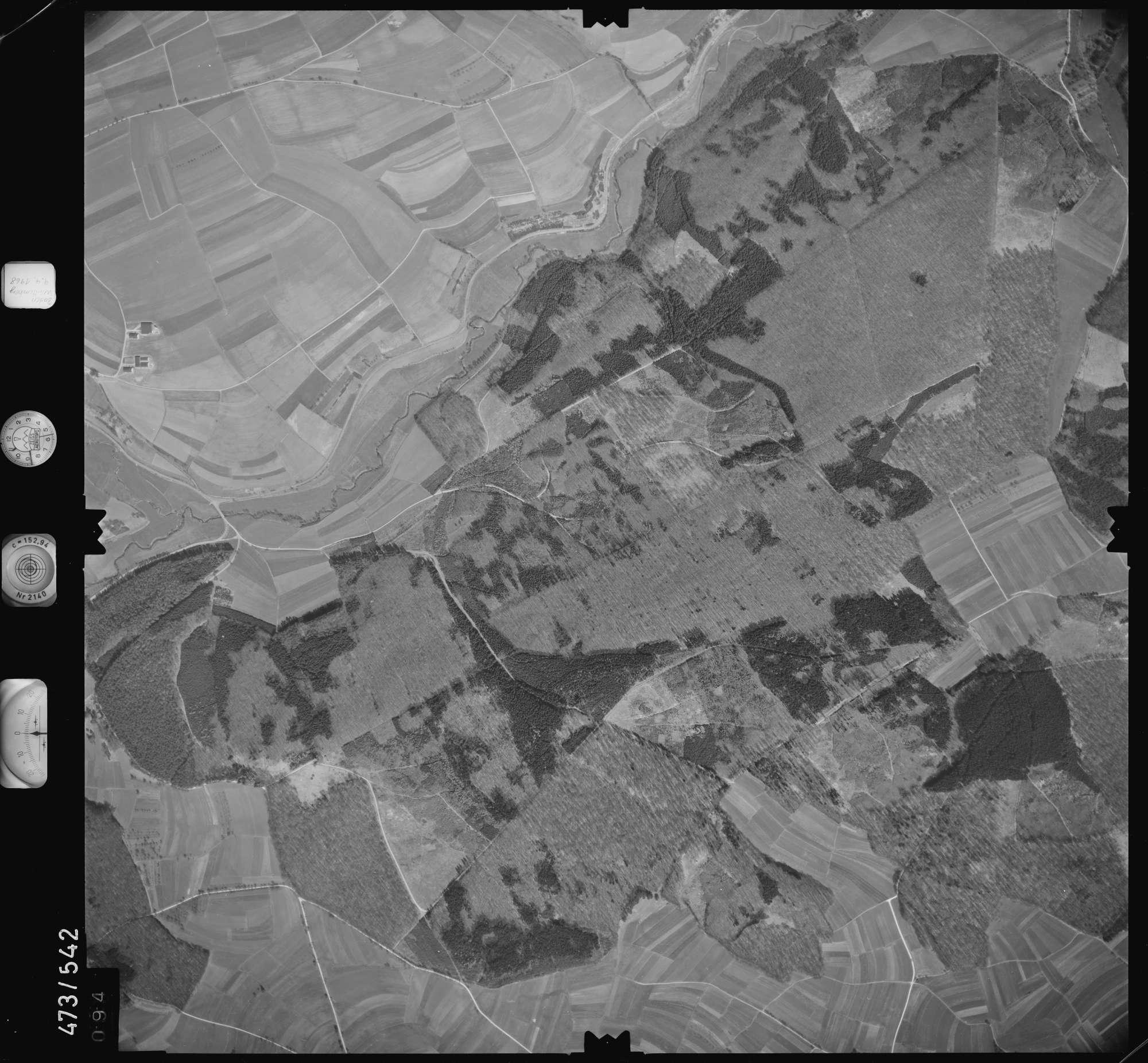 Luftbild: Film 100 Bildnr. 94, Bild 1