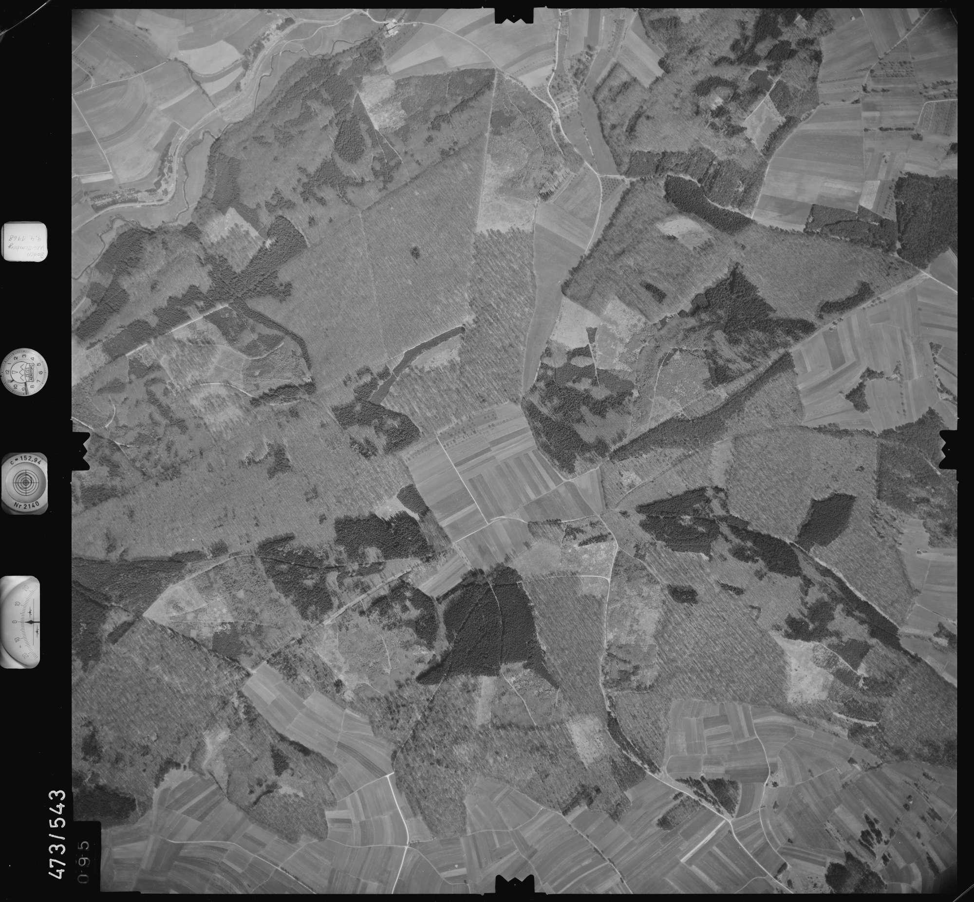 Luftbild: Film 100 Bildnr. 95, Bild 1