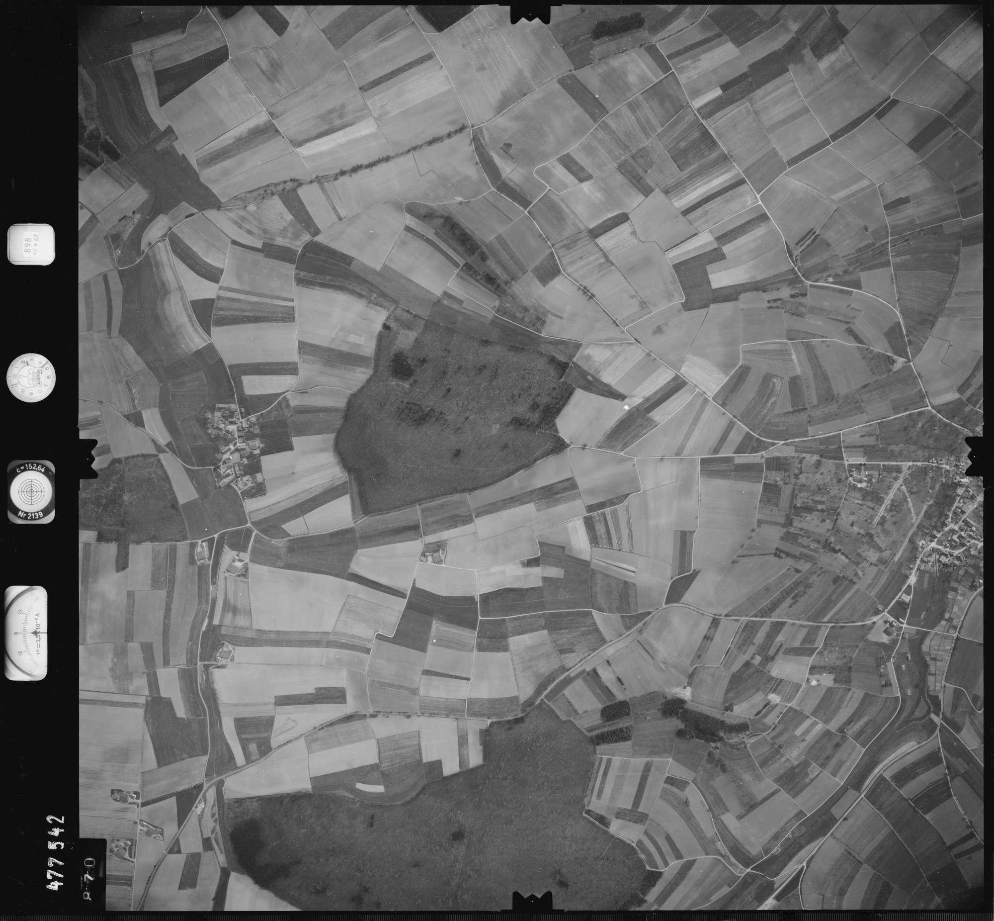 Luftbild: Film 898 Bildnr. 870, Bild 1