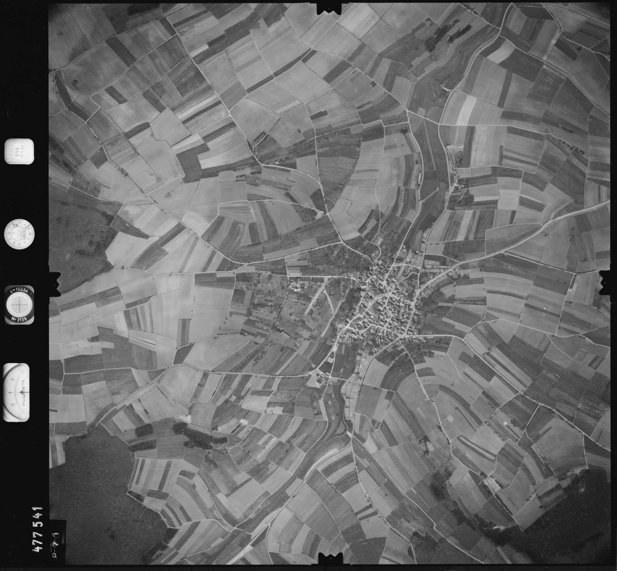 Luftbild: Film 898 Bildnr. 871, Bild 1